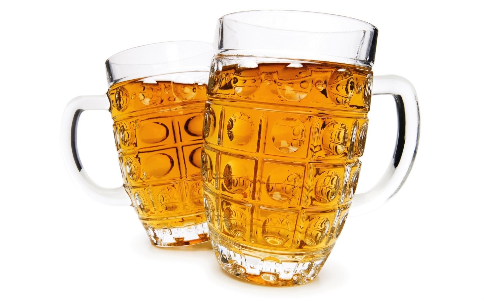 Wallpaper Beer Circles Glass Transparent 1920x1200