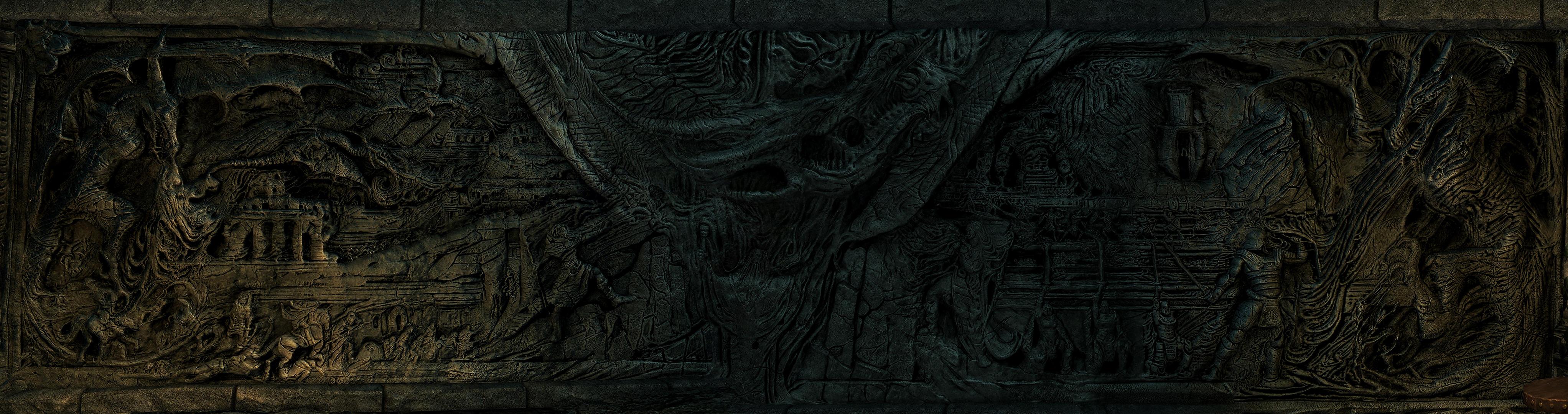 Wallpaper : bethesda, pano, panorama, the, elder, scrolls, V