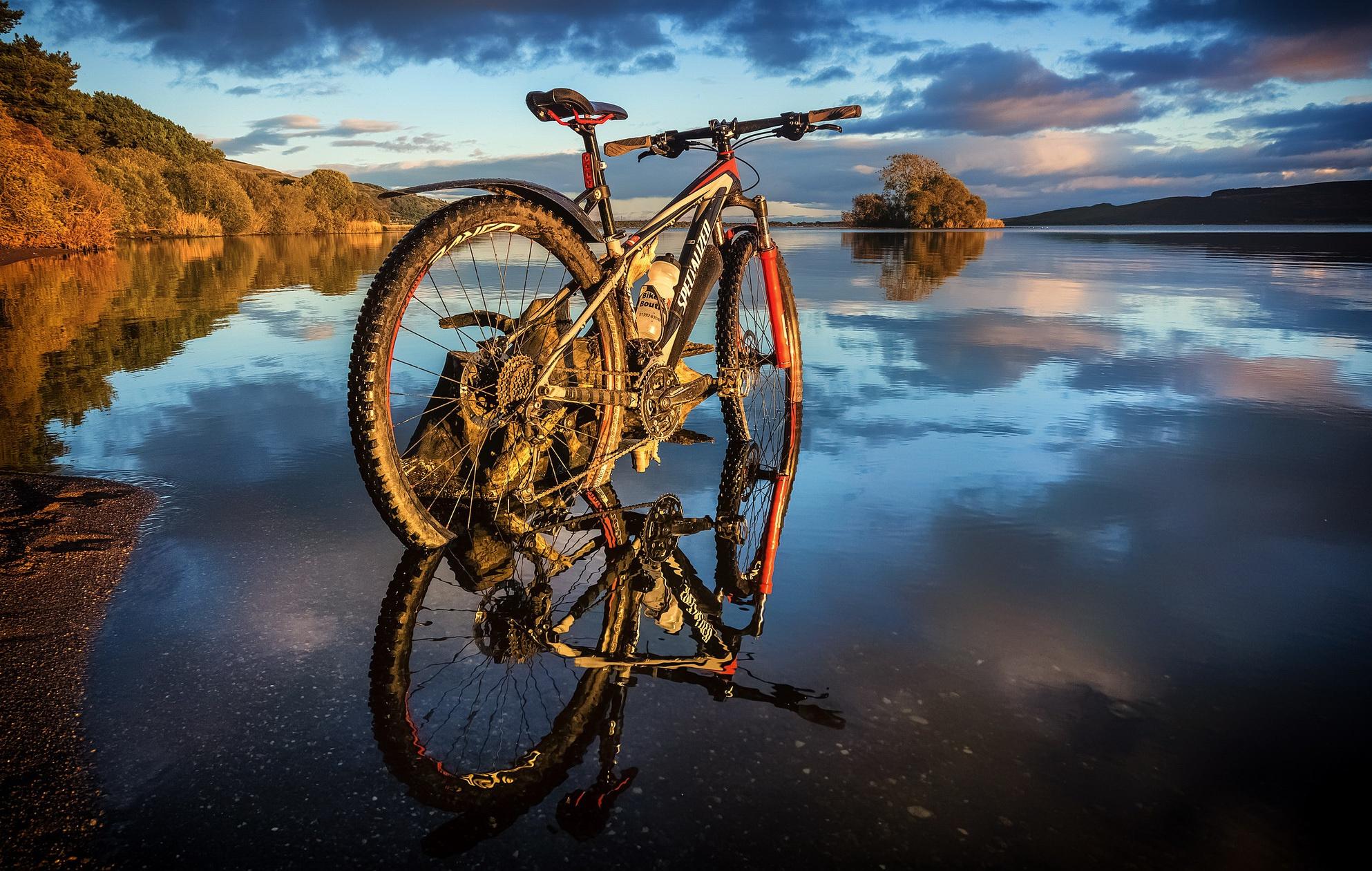 Красивые велосипедные картинки