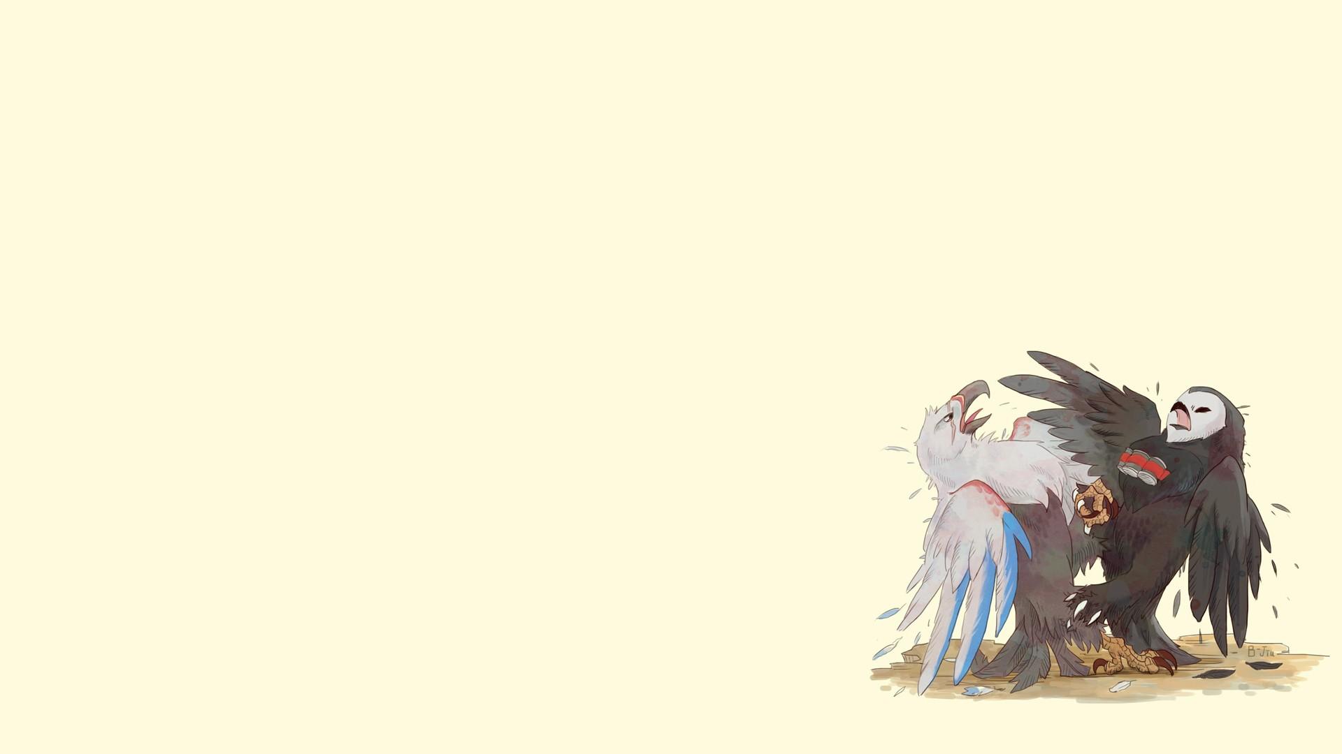 Sfondi uccelli anime cartone animato overwatch reaper