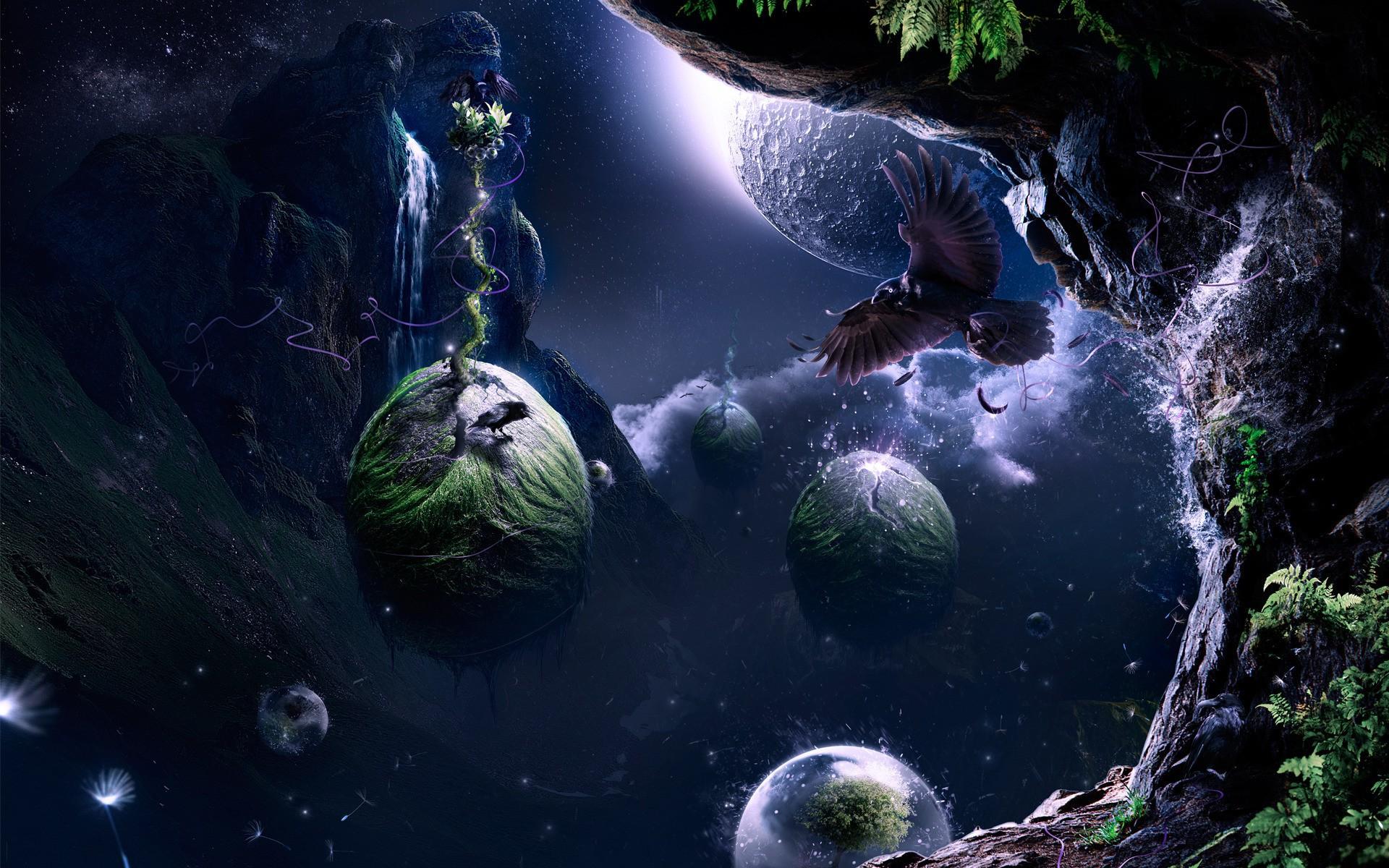 Фото космоса фэнтези