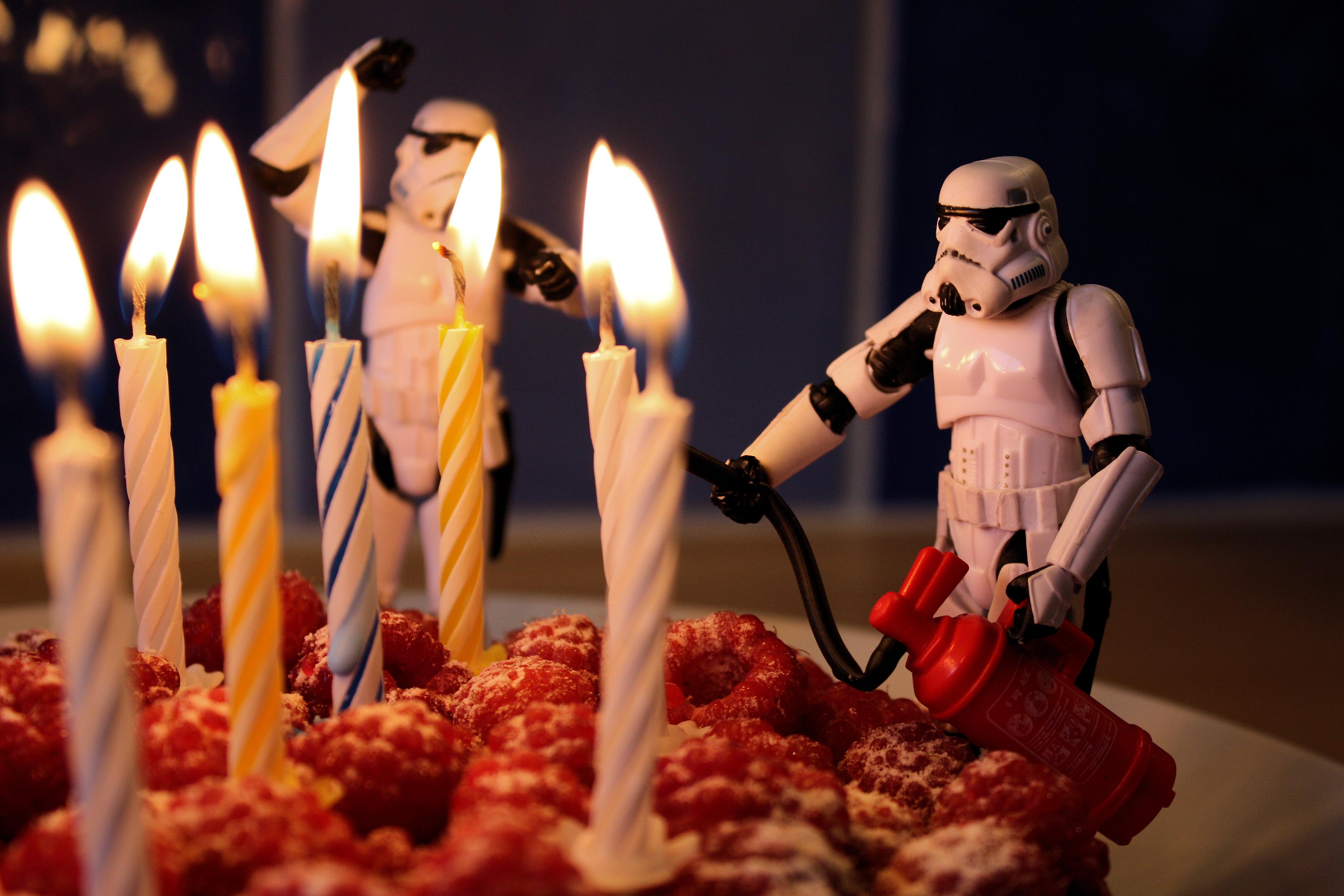 Поздравления с днем рождения от звёздных войн 813