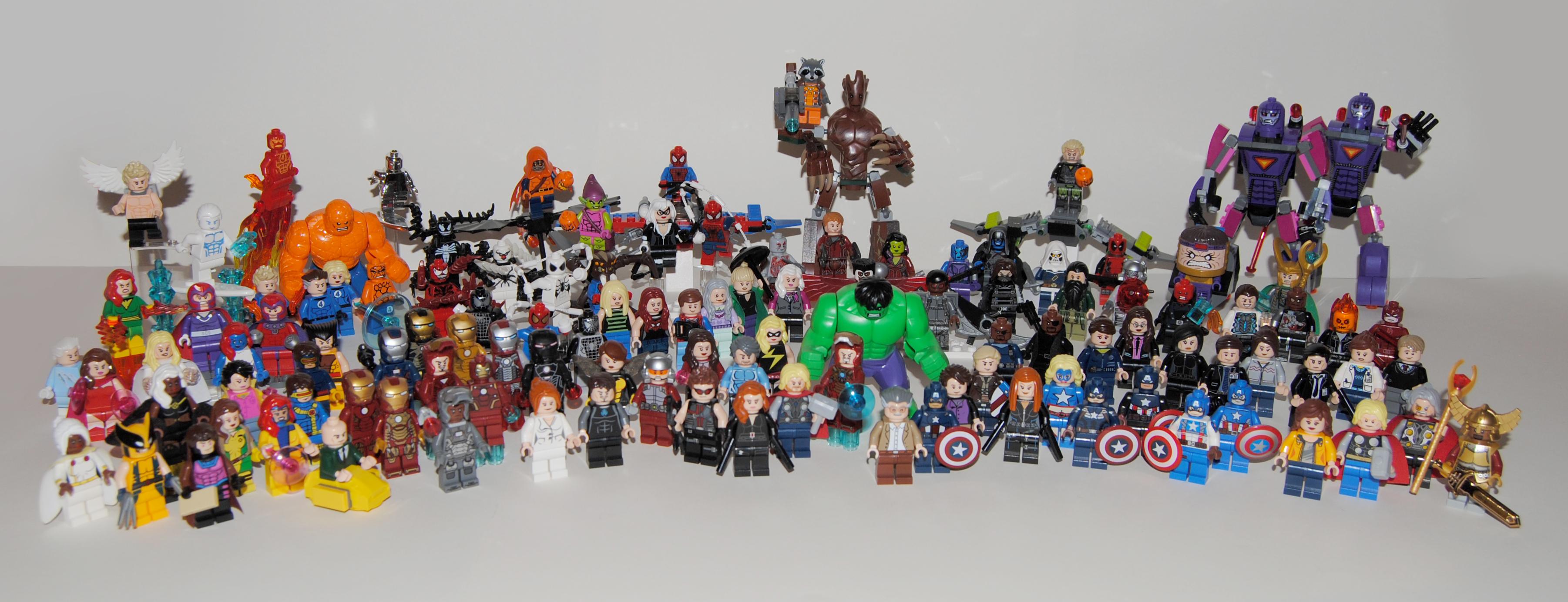 Wallpaper Black Thor Galaxy Lego Hulk Venom Toy Widow