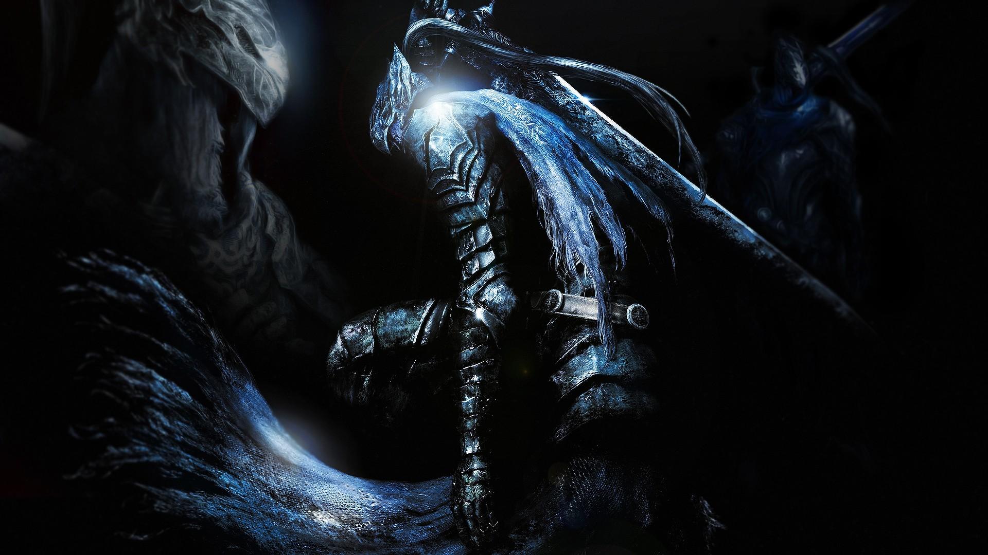 デスクトップ壁紙 黒 アートワーク ドラゴン 悪魔 暗い魂