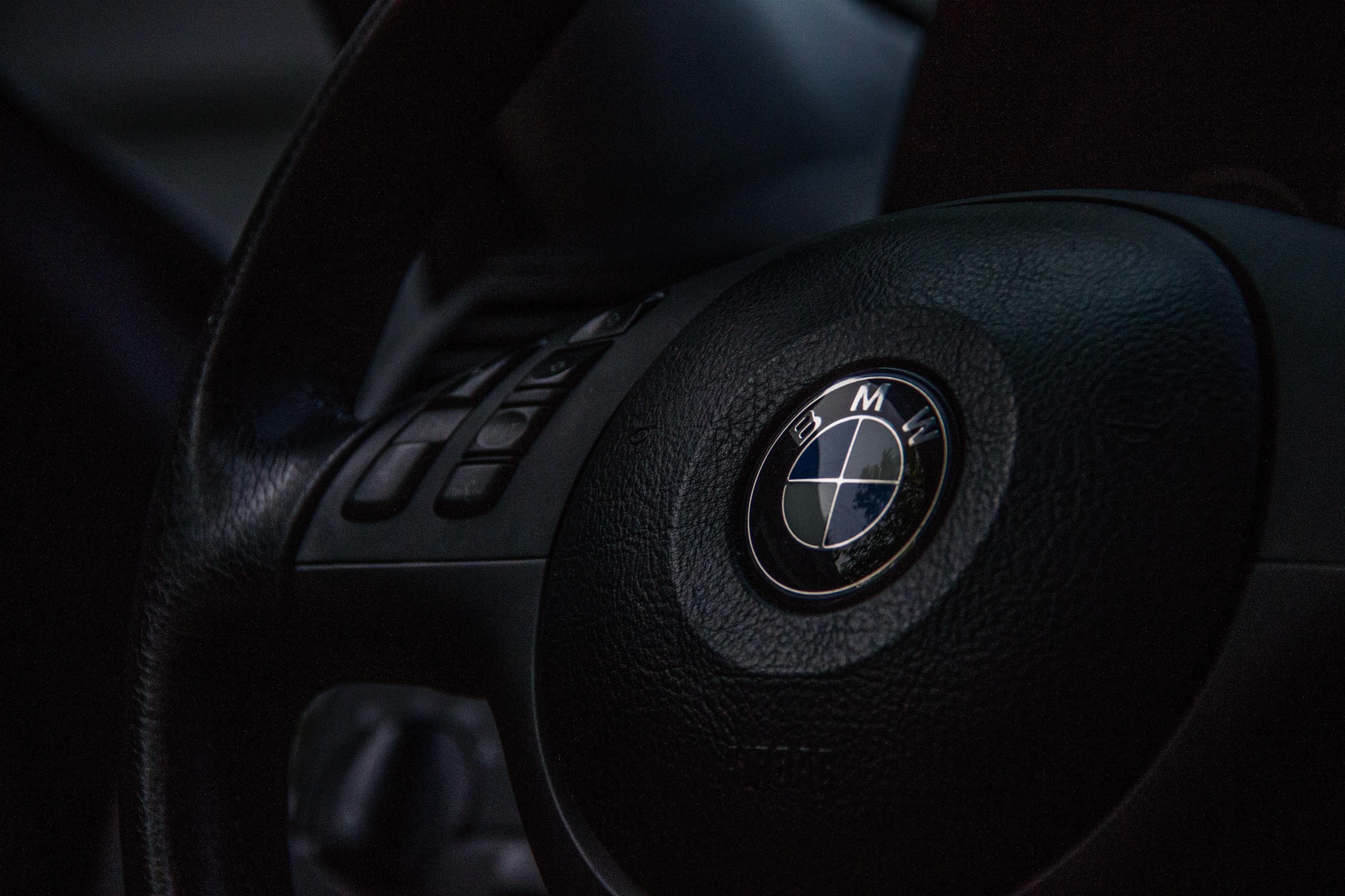 Wallpaper Black Car Interior Sports Car Bmw E46