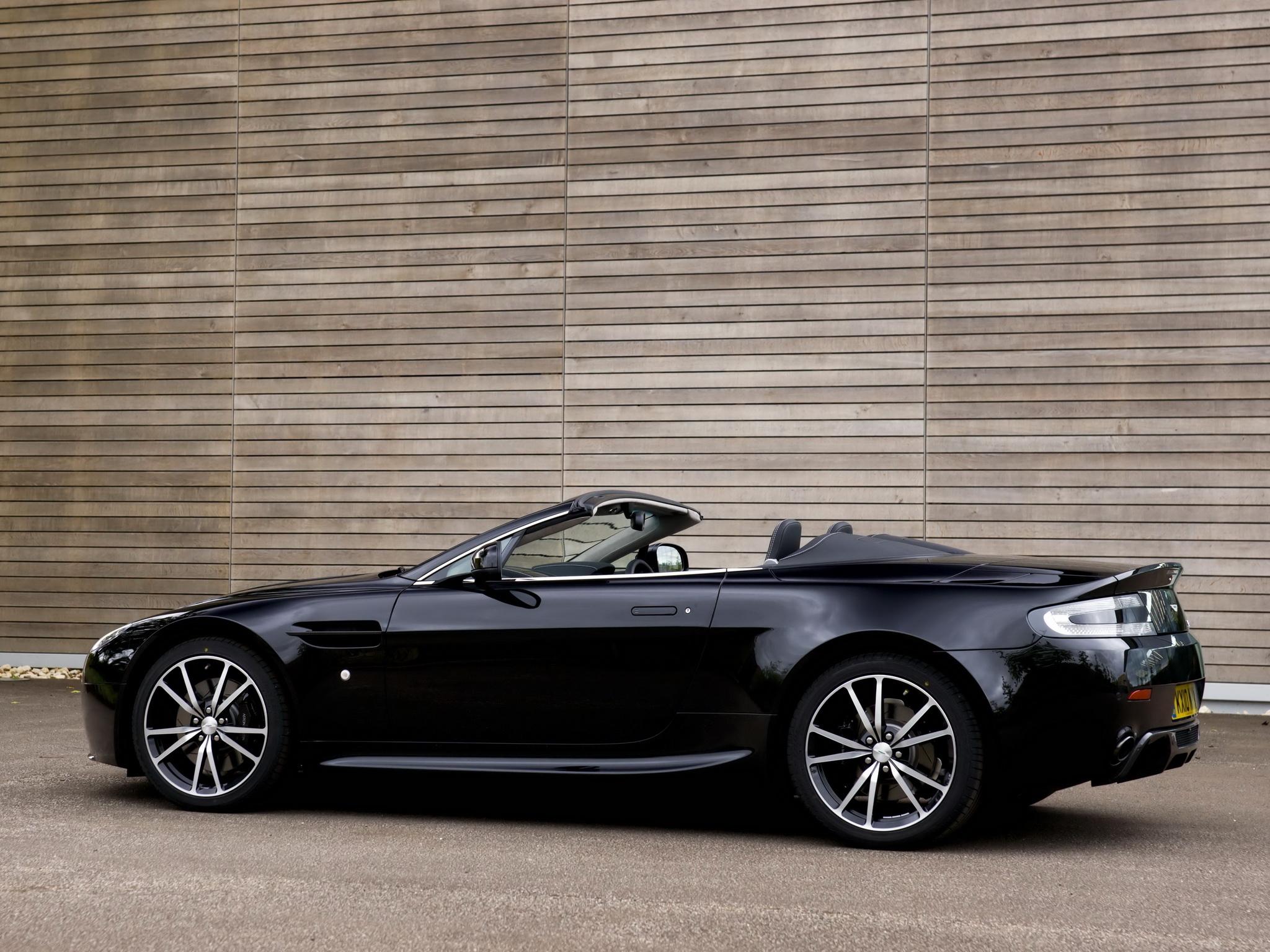 Wallpaper : black, side view, sports car, Aston Martin, Aston Martin on aston v12 vantage, v8 vantage, white v12 vantage, aston rapide s, aston v8, aston db, car model vantage, 2007 aston vantage, aston vanquish volante, aston martin's fresh, aston one-77,
