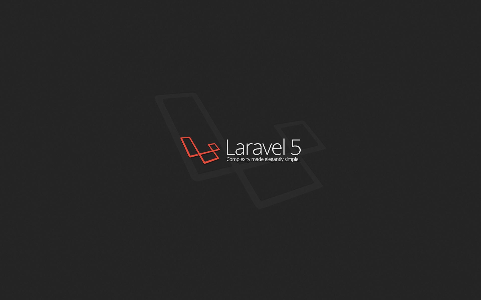 Black Dark Text Logo Simple Code Programming Circle PHP Brand Laravel Screenshot Presentation Computer Wallpaper Font