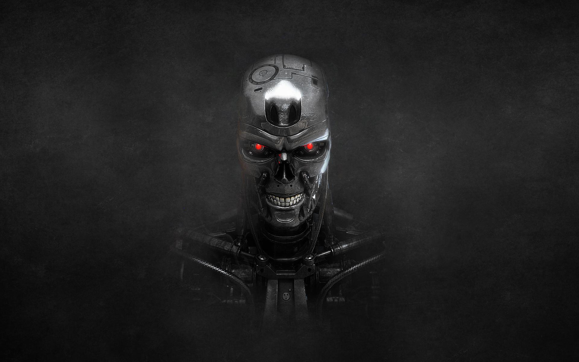 Wallpaper : digital art, Terminator, T 800, cyborg ...