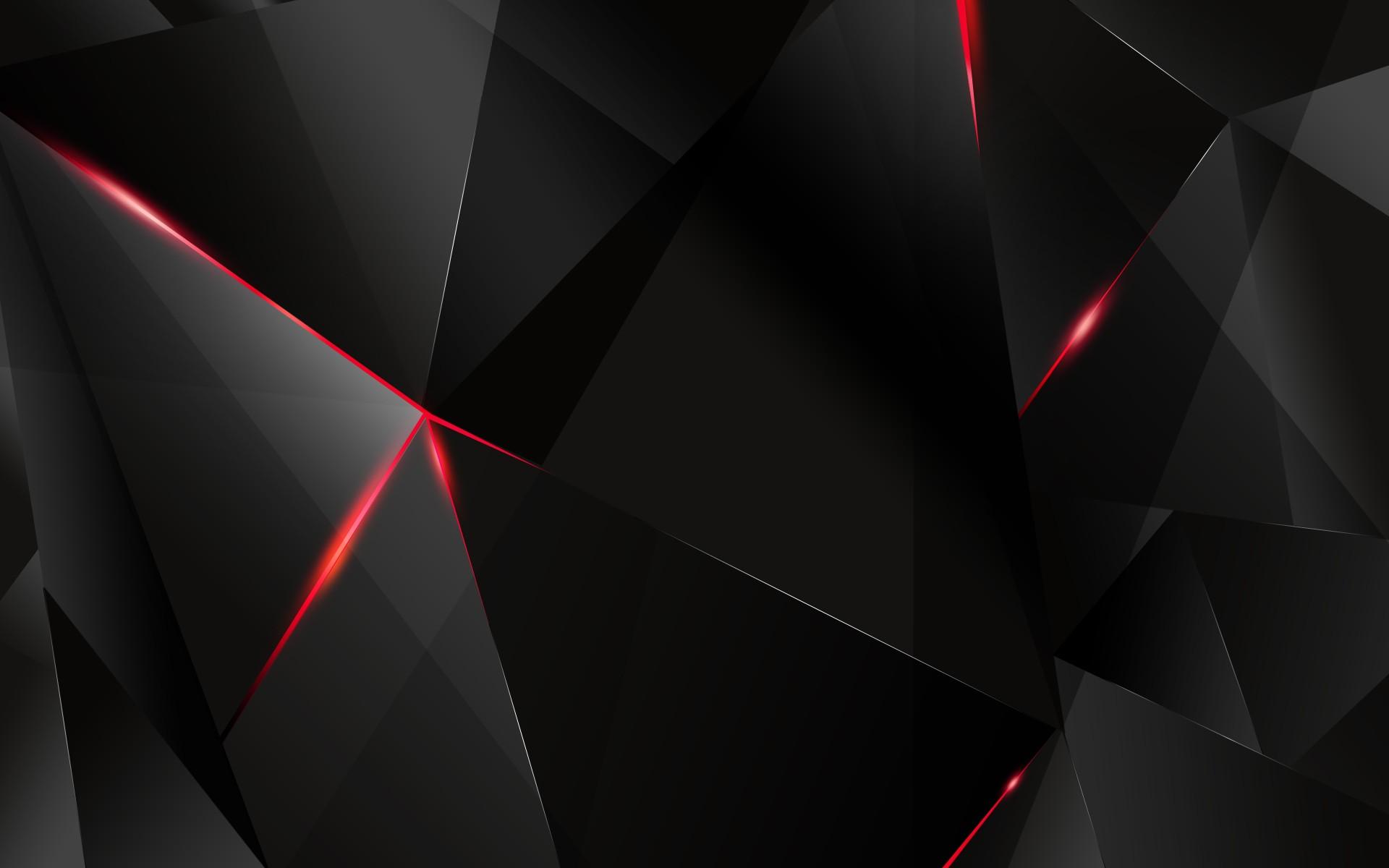 Black Digital Art Monochrome Dark Abstract Red Symmetry Triangle Geometry Texture Circle Textured Light Wheel Shape
