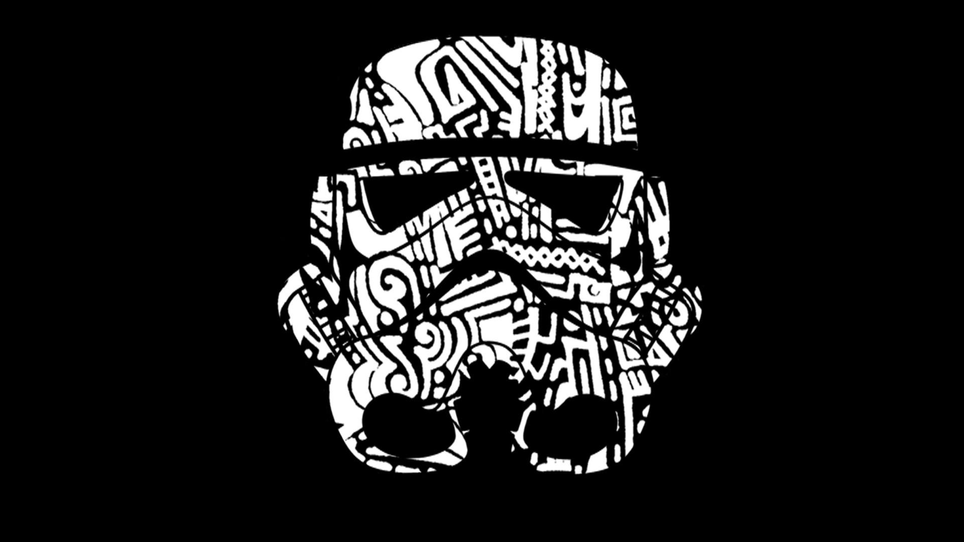 Wallpaper : illustration, Star Wars, text, logo, graphic design, pattern, skull, skeleton, brand, head, ART, symbol, graphics, 1920x1080 px, ...
