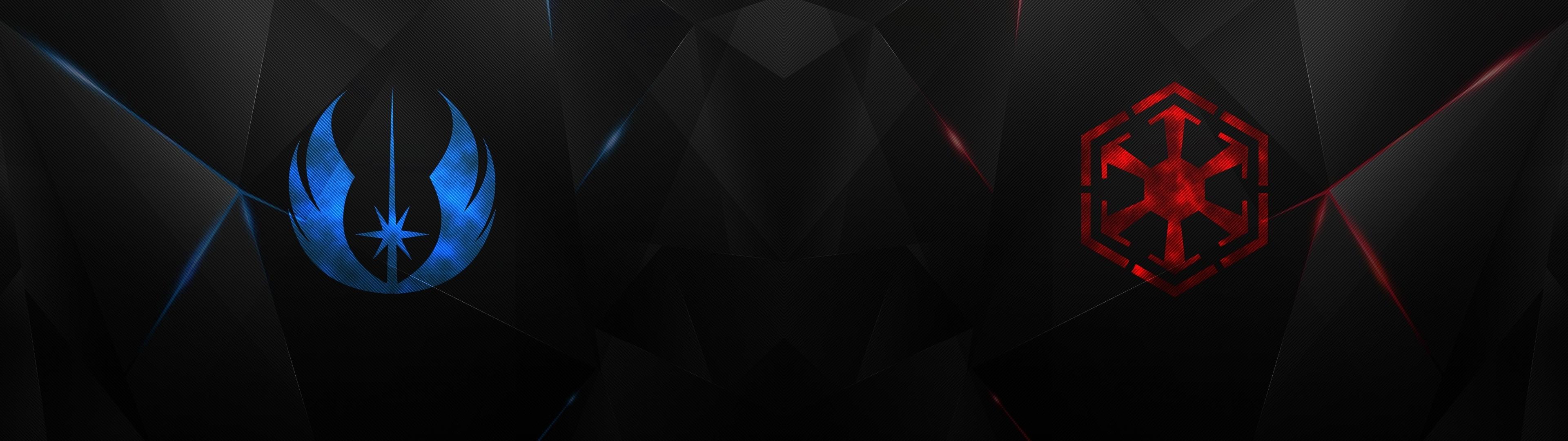 Wallpaper Black Illustration Star Wars Red Symmetry Symbols Light Darkness Screenshot Computer Wallpaper 3840x1080 Cybersickness 78483 Hd Wallpapers Wallhere