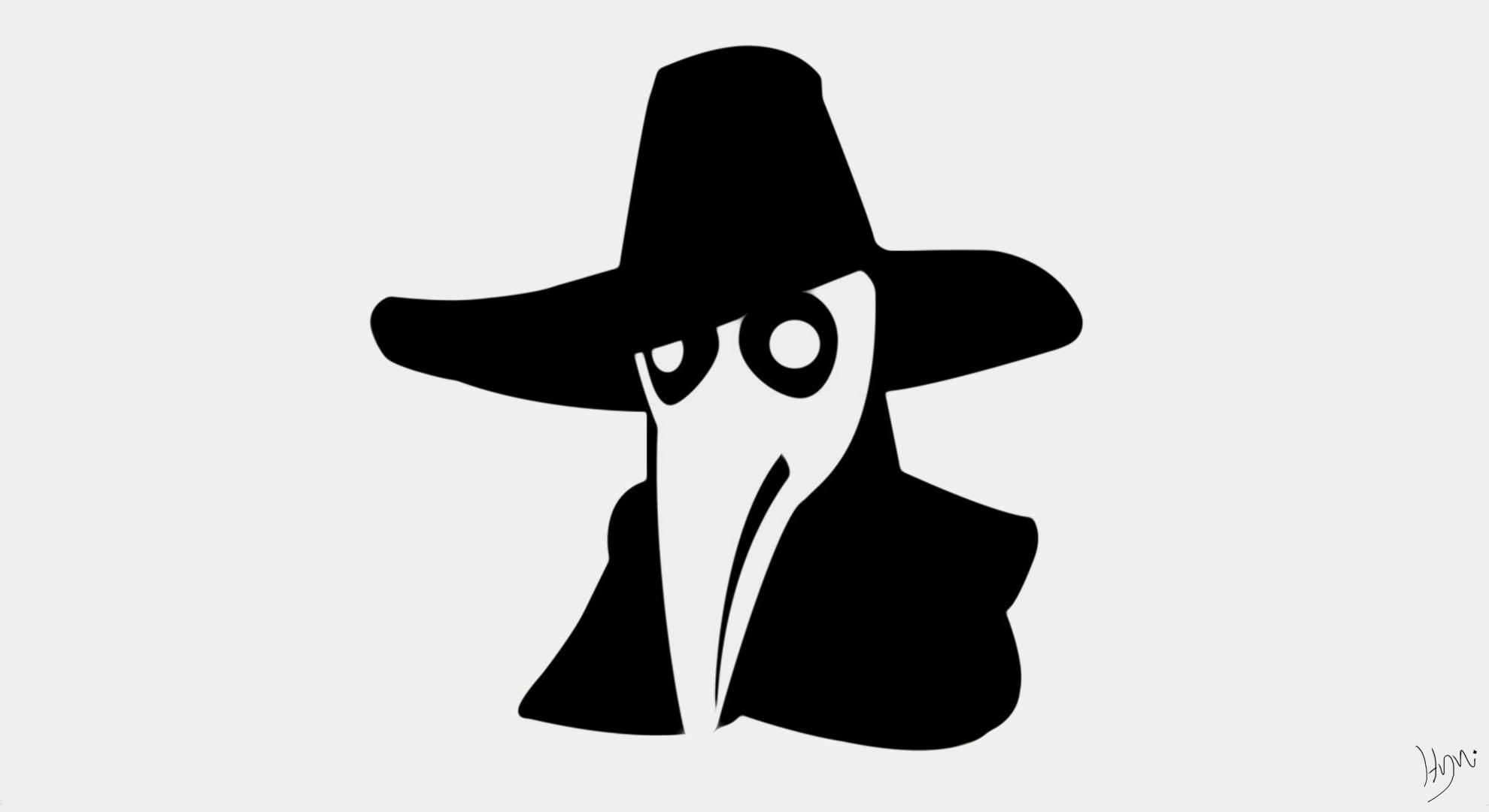 デスクトップ壁紙 黒 図 ダーク シルエット ロゴ 漫画 口ひげ