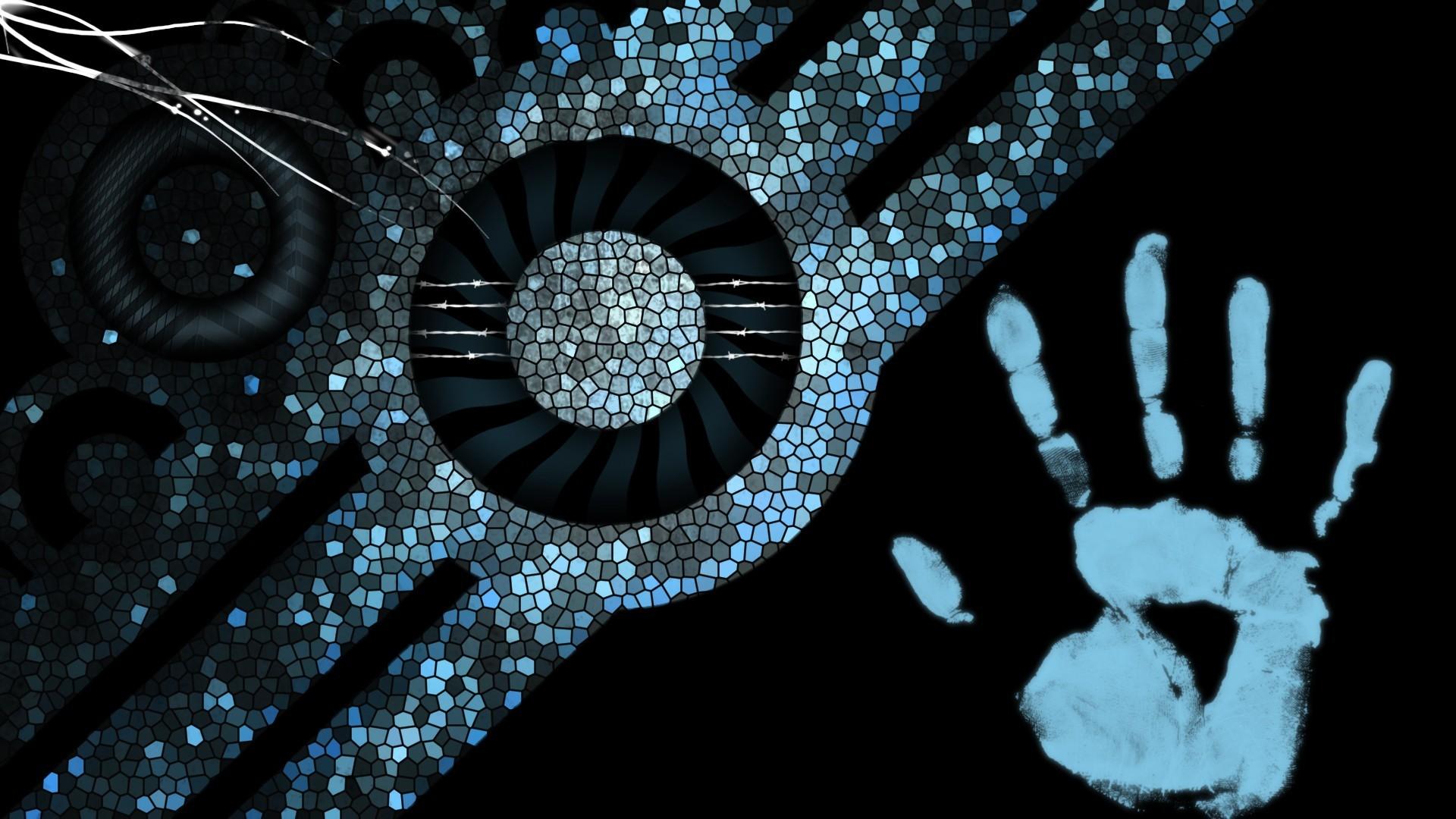 hintergrundbilder abstrakt blau streifen - photo #18