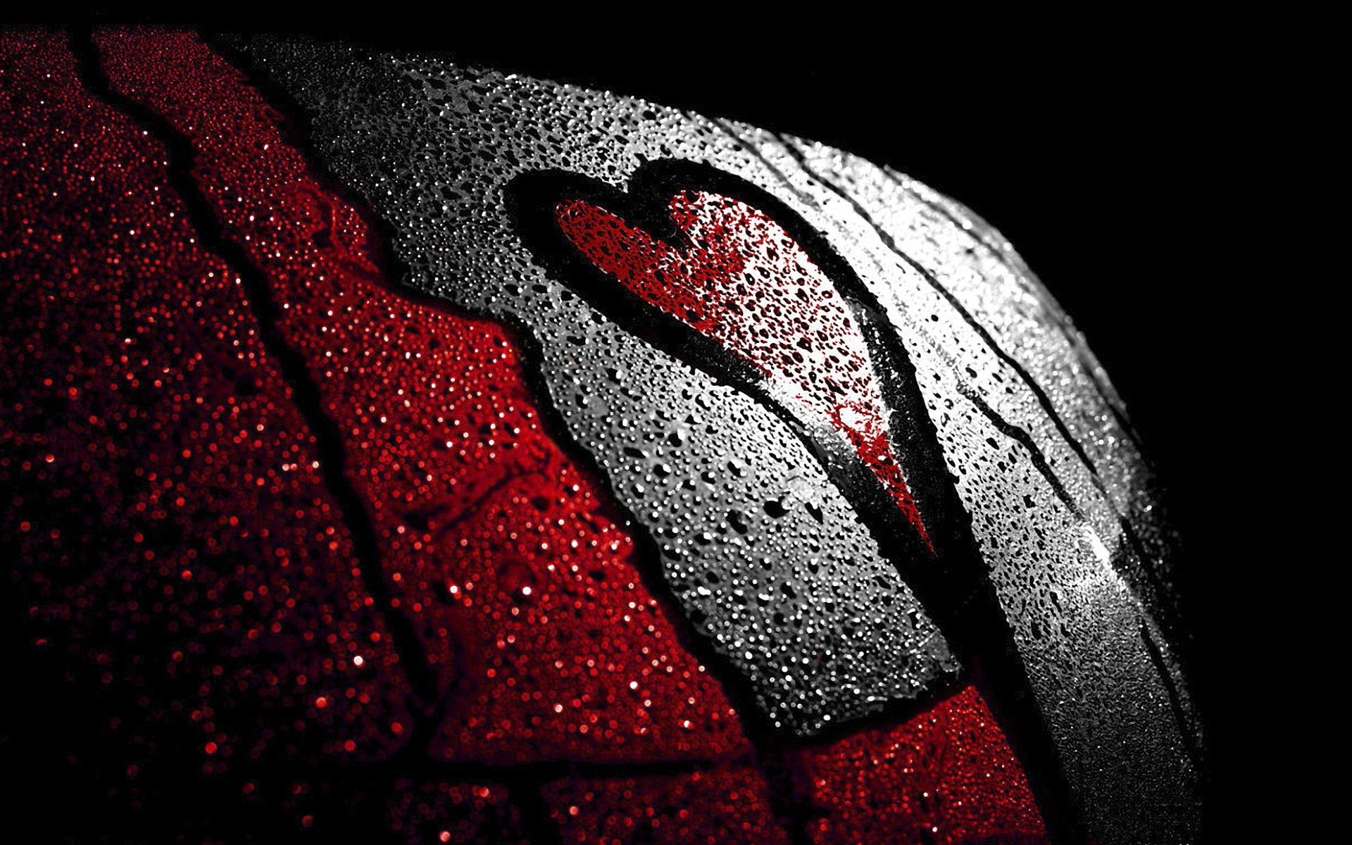 Wallpaper black love heart red darkness graphics - Love life wallpaper hd ...