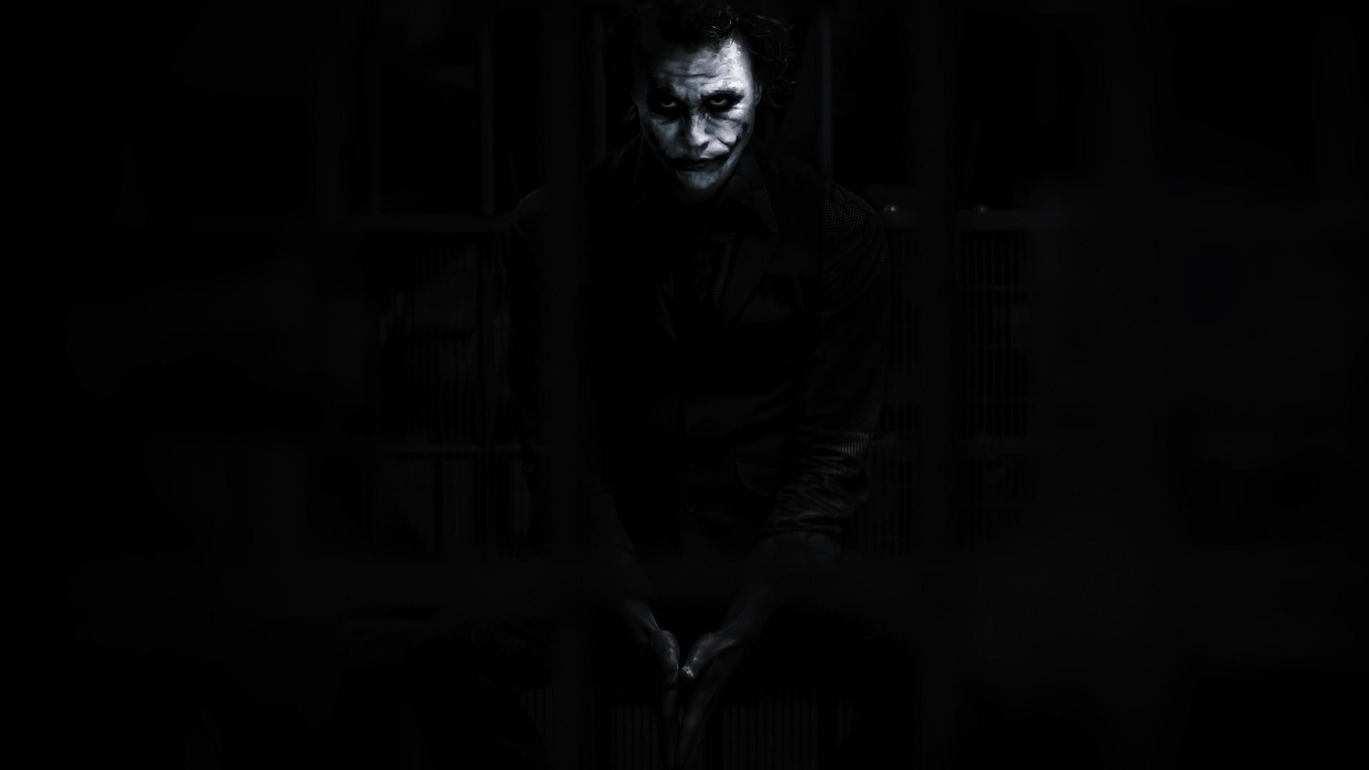 Wallpaper The Dark Knight Batman Joker Movies Heath