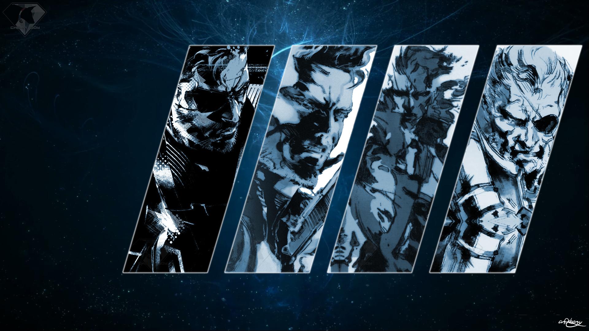 Wallpaper Artwork Metal Gear Solid Poster Solid Snake Big