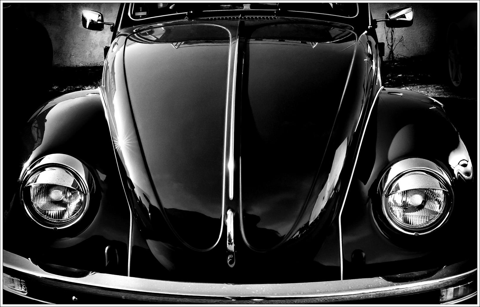 Vintage Car Classic Blackandwhite Bw Automobile Vw Graphics Computer Wallpaper Black And White Monochrome Photography Automotive Design