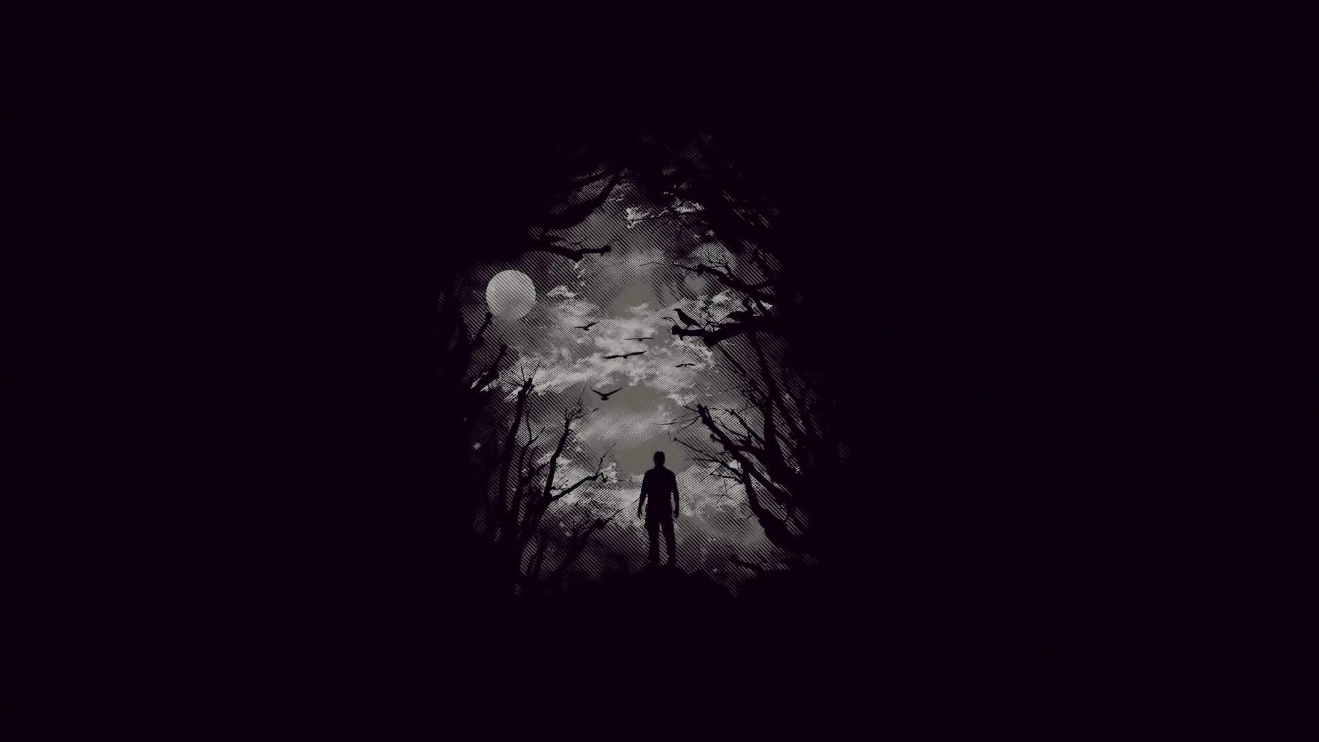 грустные картинки в темных тонах ближе