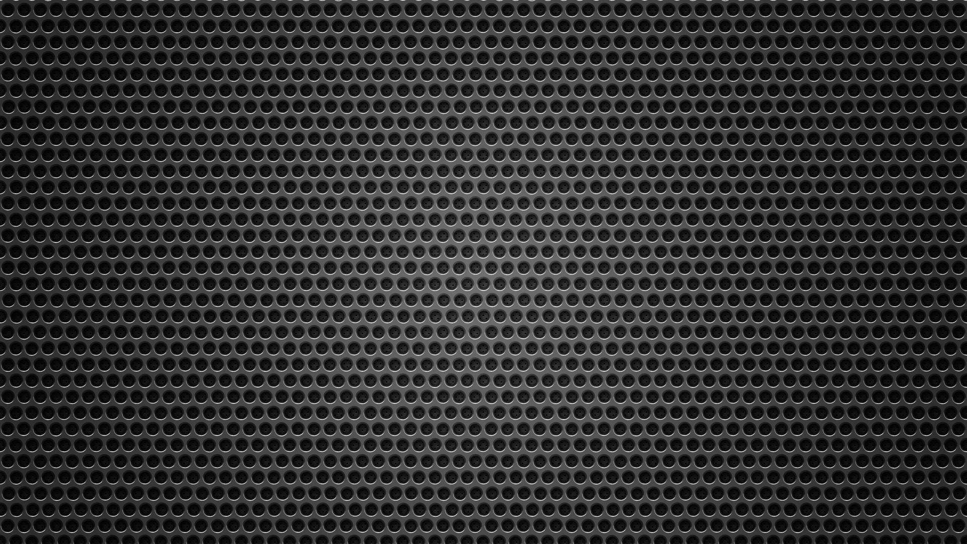 Wallpaper Dark Pattern Metal Texture Circle Grid