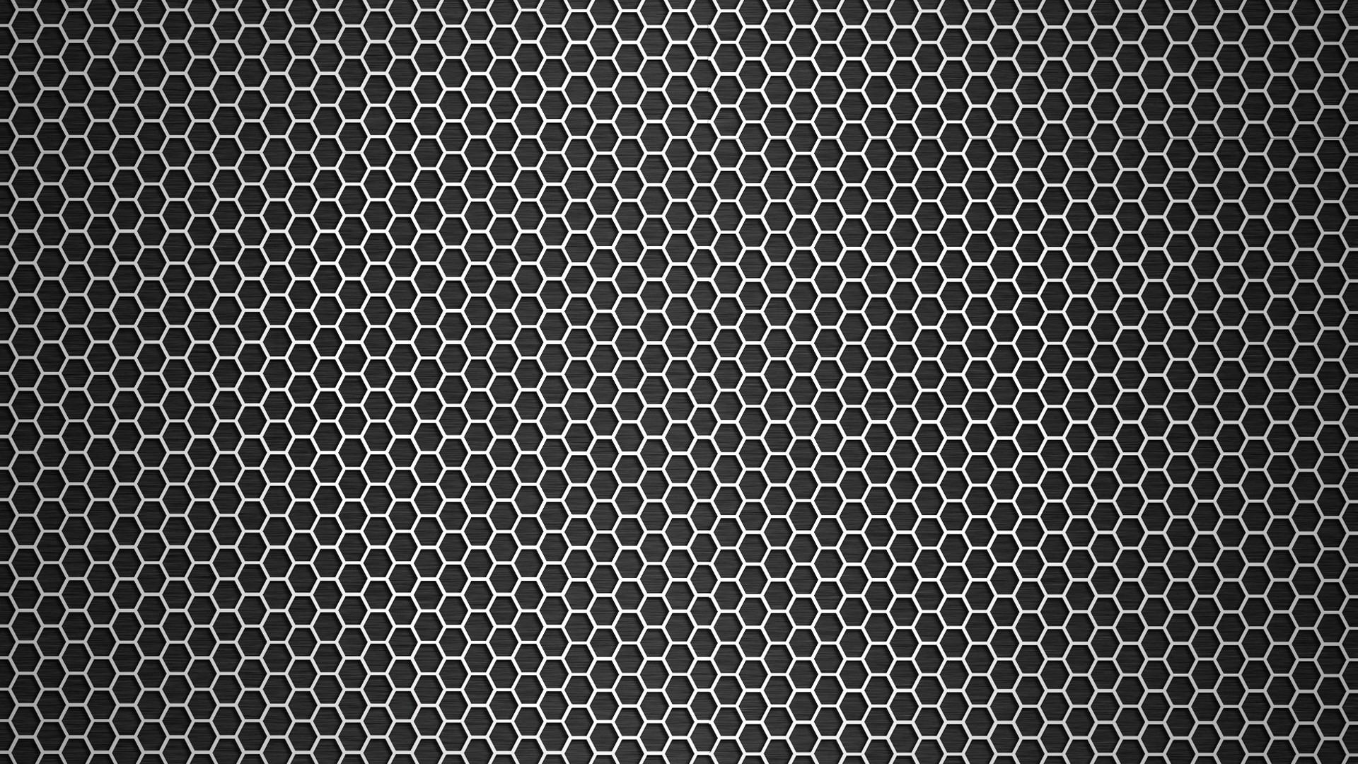 Technology Background With Circular Mesh: Fondos De Pantalla : Monocromo, Oscuro, Patrón, Metal