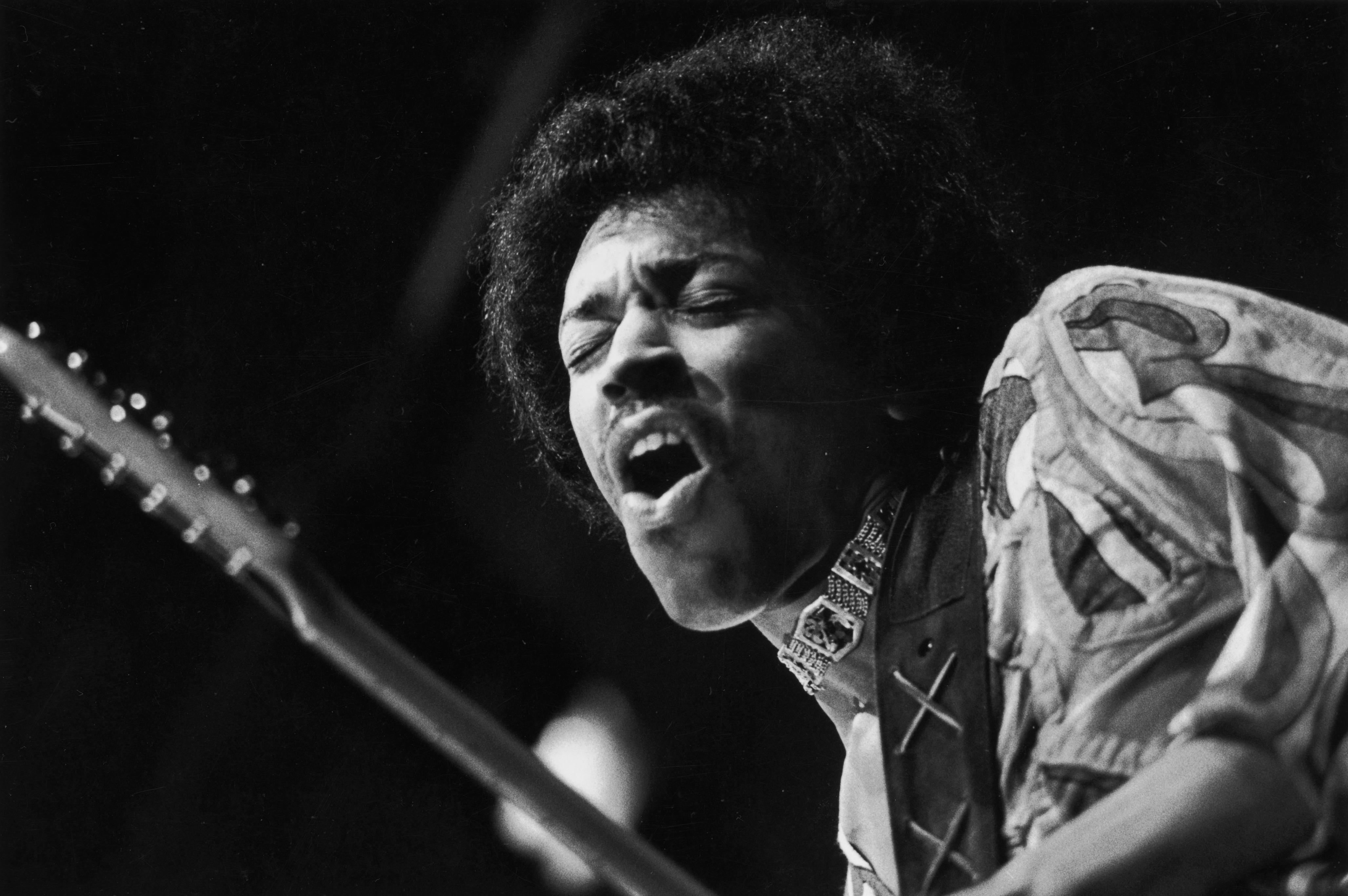 Wallpaper Guitar Music Musician Guitarist Jimi Hendrix