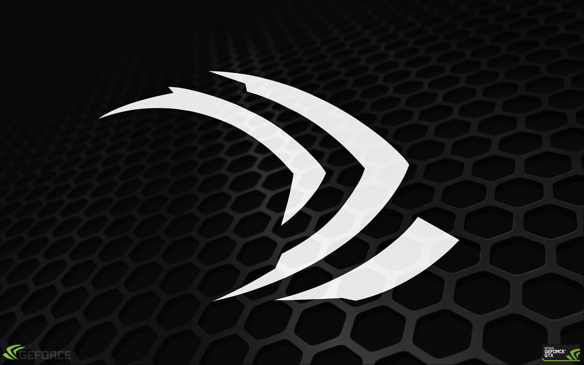デスクトップ壁紙 黒 モノクロ ロゴ サークル Nvidia ビデオ