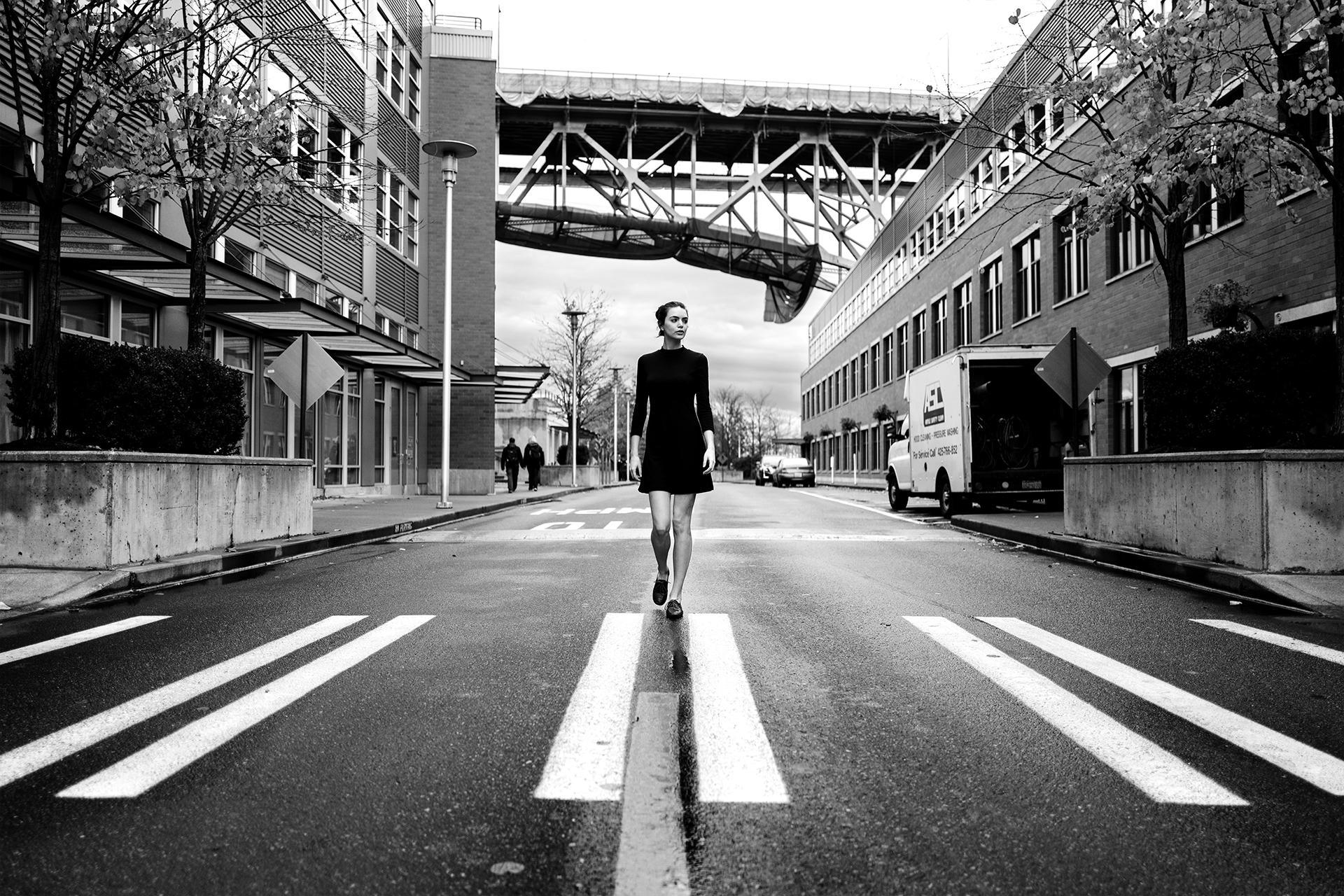Wallpaper : model, street, road, cinematic, Seattle, Leica, Google,  infrastructure, blackandwhite, wideangle, dramatic, bw, crosswalk, leicaq, q,  28mm, ...