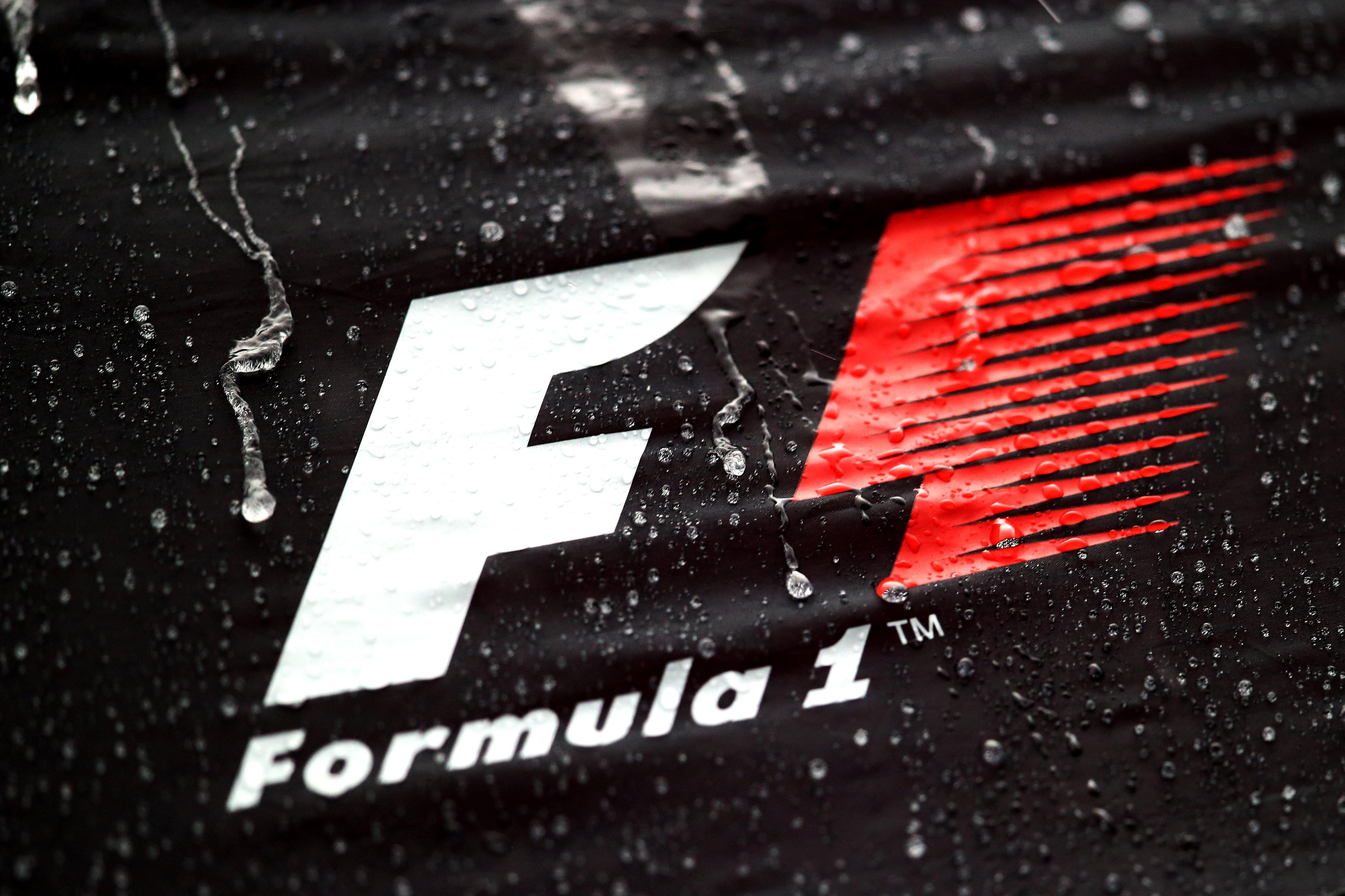 Wallpaper : black, monochrome, red, logo, Formula 1, brand ...