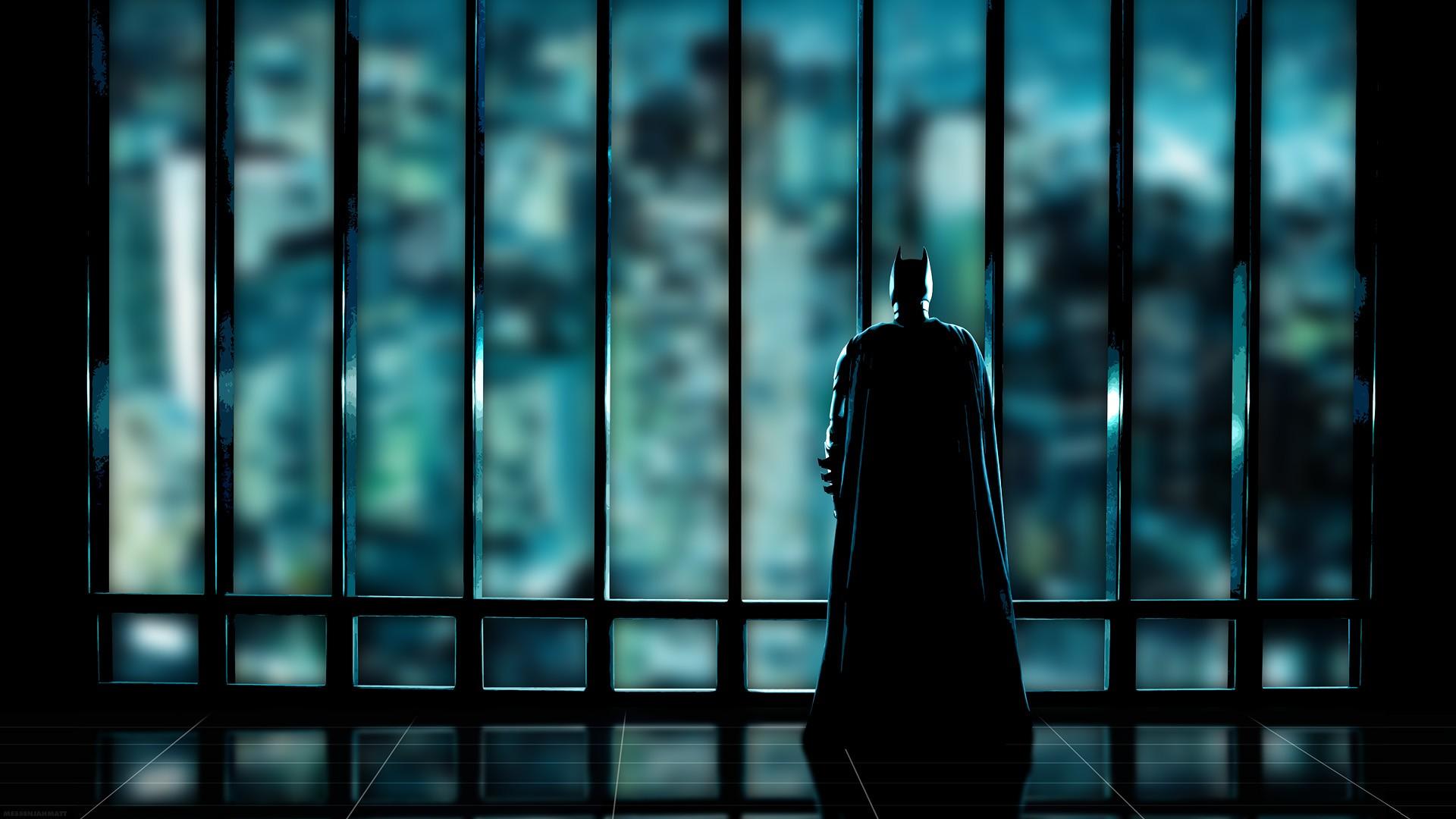 デスクトップ壁紙 窓 反射 影 ダークナイト バットマン 映画