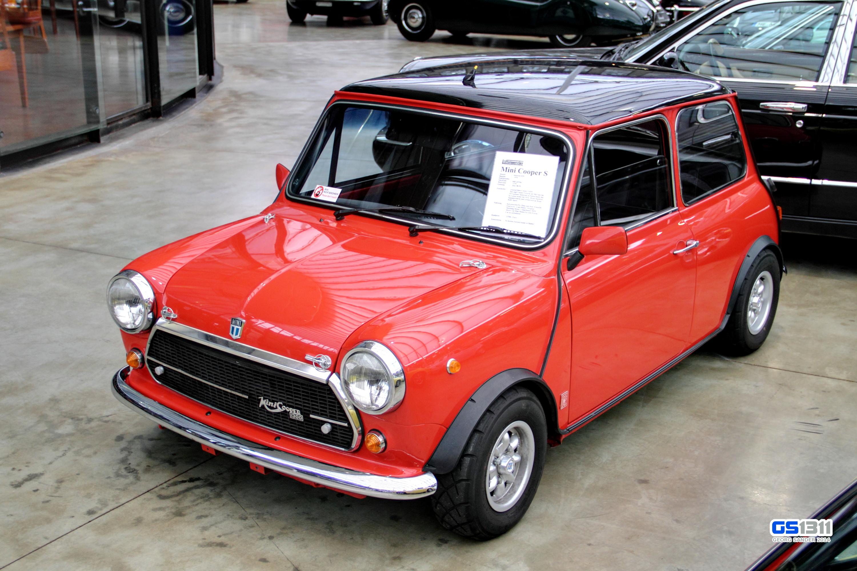 Wallpaper Black Old Red Mini Cooper Oldtimer Rouge Top 1965