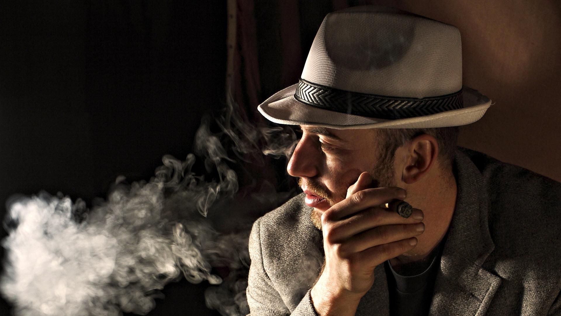 Black Portrait Hat Photography Smoke Fashion Person Man Darkness Male Cigar Brutality