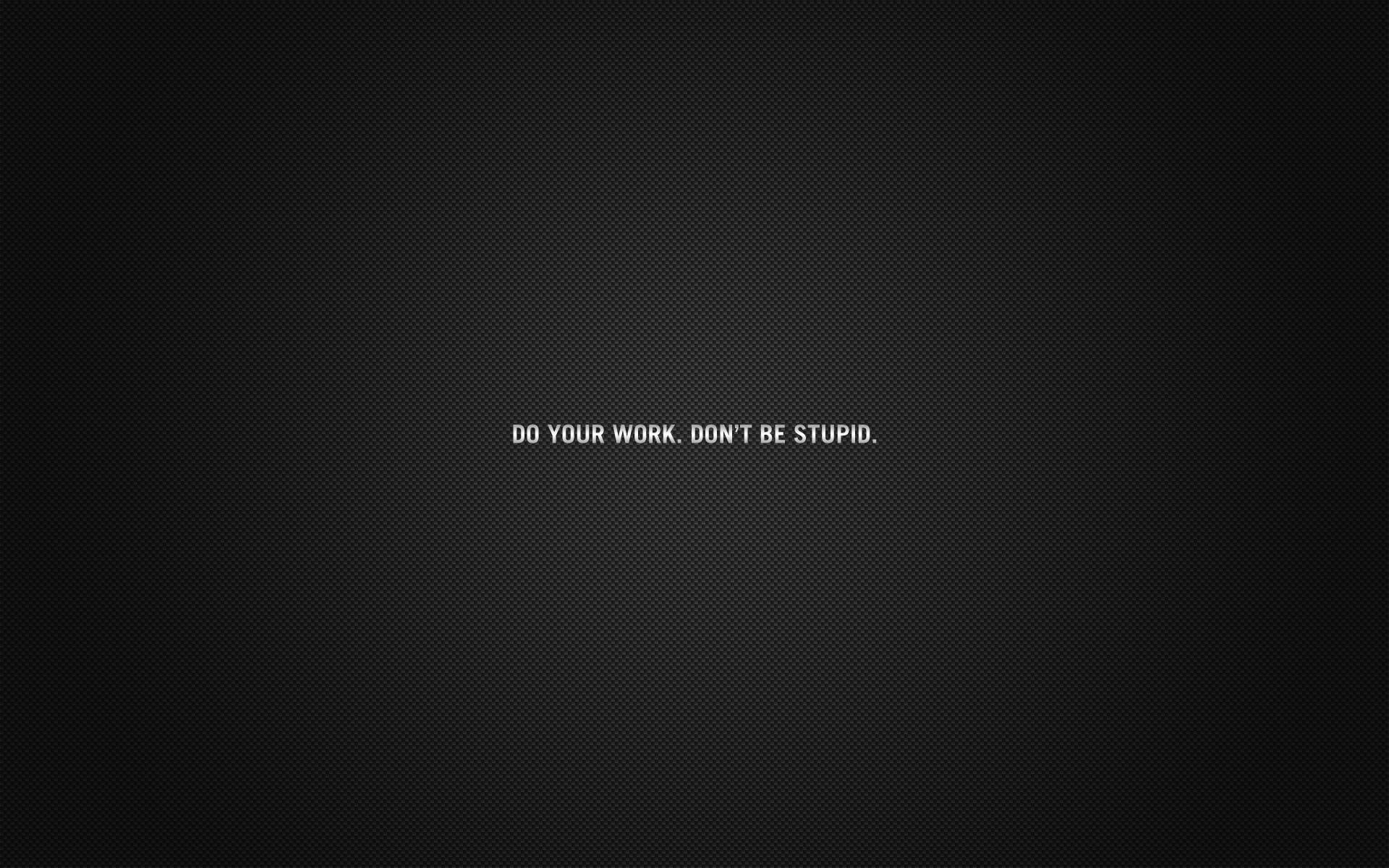 Wallpaper Black Quote Minimalism Typography Text