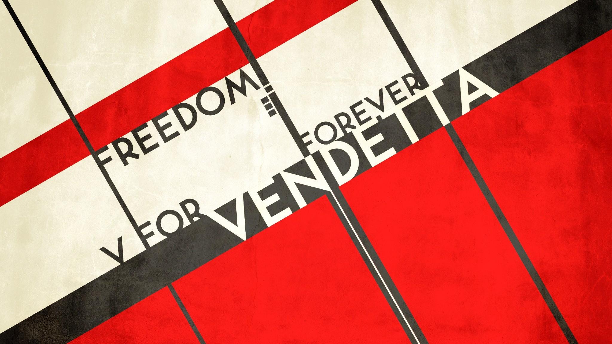Fond Décran Noir Rouge Drapeau Cercle V Pour Vendetta