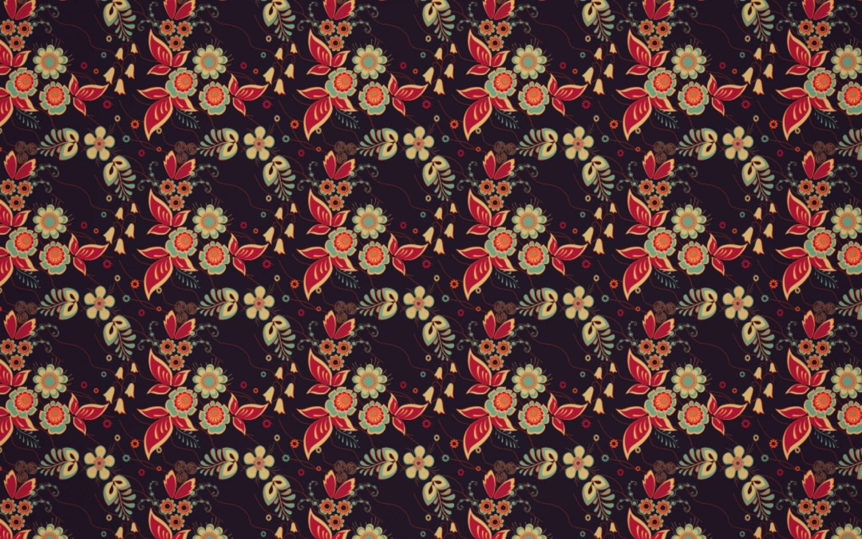 Black Red Pattern Texture Carpet Tile ART Color Flower Design Wallpaper Textile Flooring