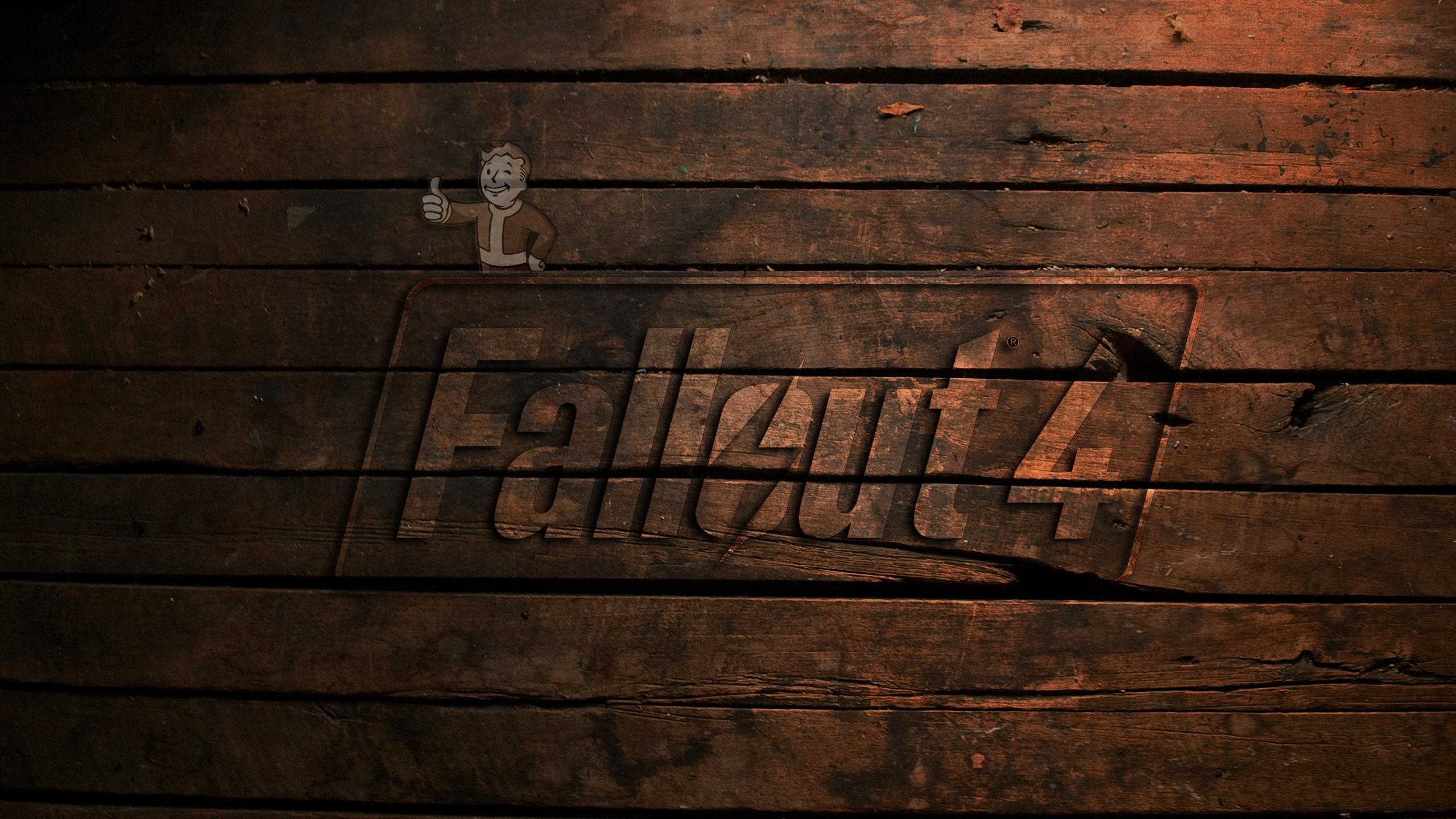 Wallpaper : black, reflection, wall, wood, texture, Fallout 4, light