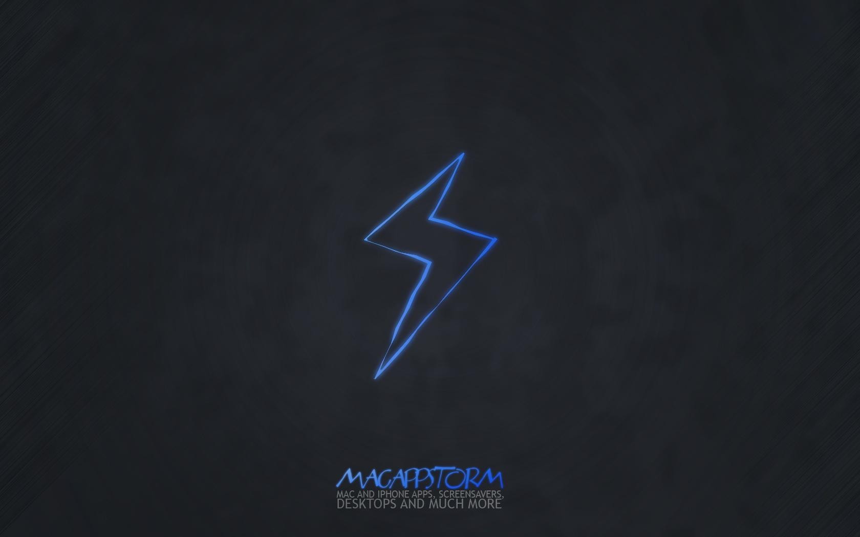 Sfondi Nero Cielo Logo Fulmine Triangolo Marca Mela Linea