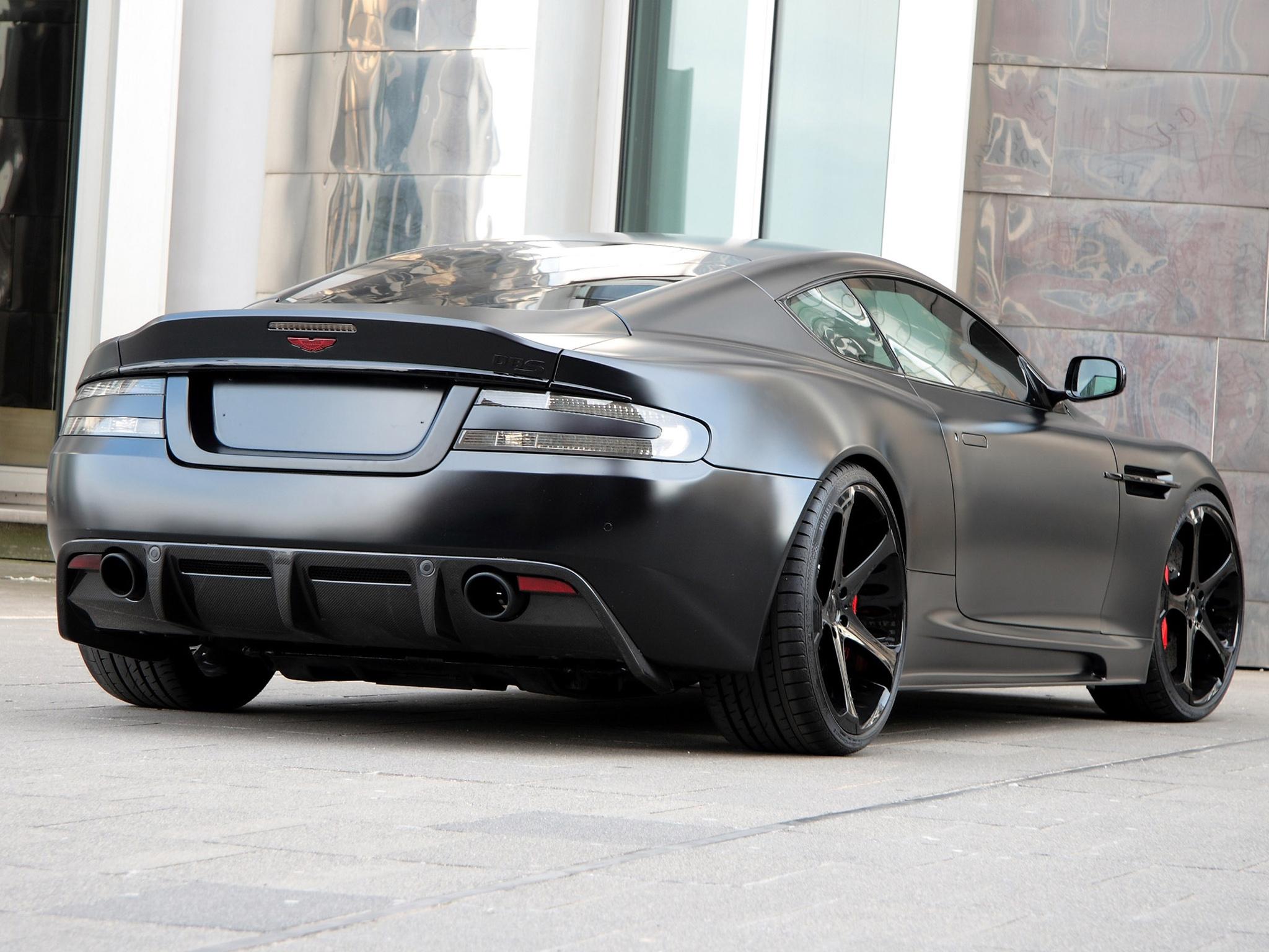 Wallpaper Black Sport Side View Sports Car Aston Martin Aston - Aston martin dbs v12