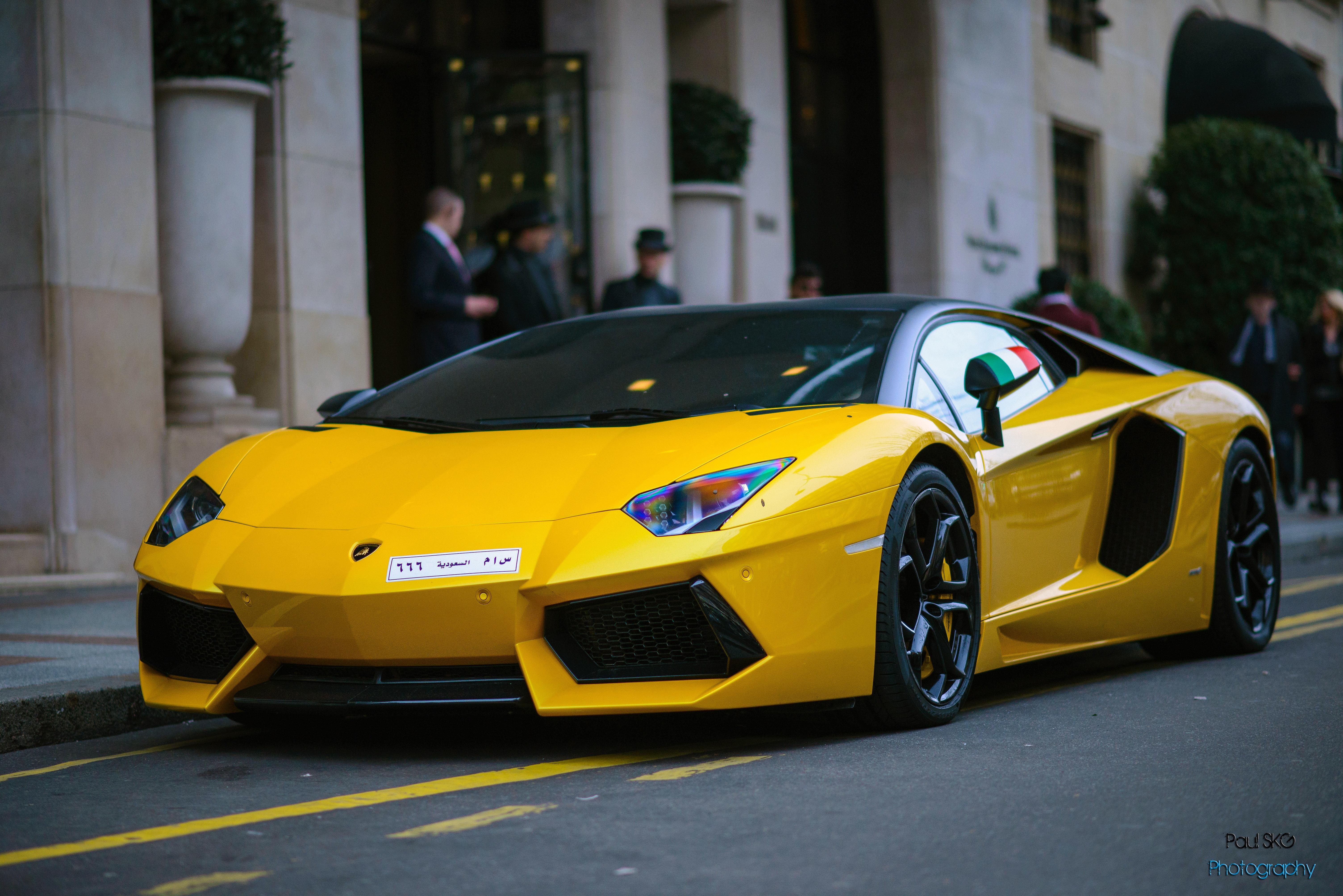 Wallpaper : black, sport, Lamborghini Aventador, Porsche, sports car