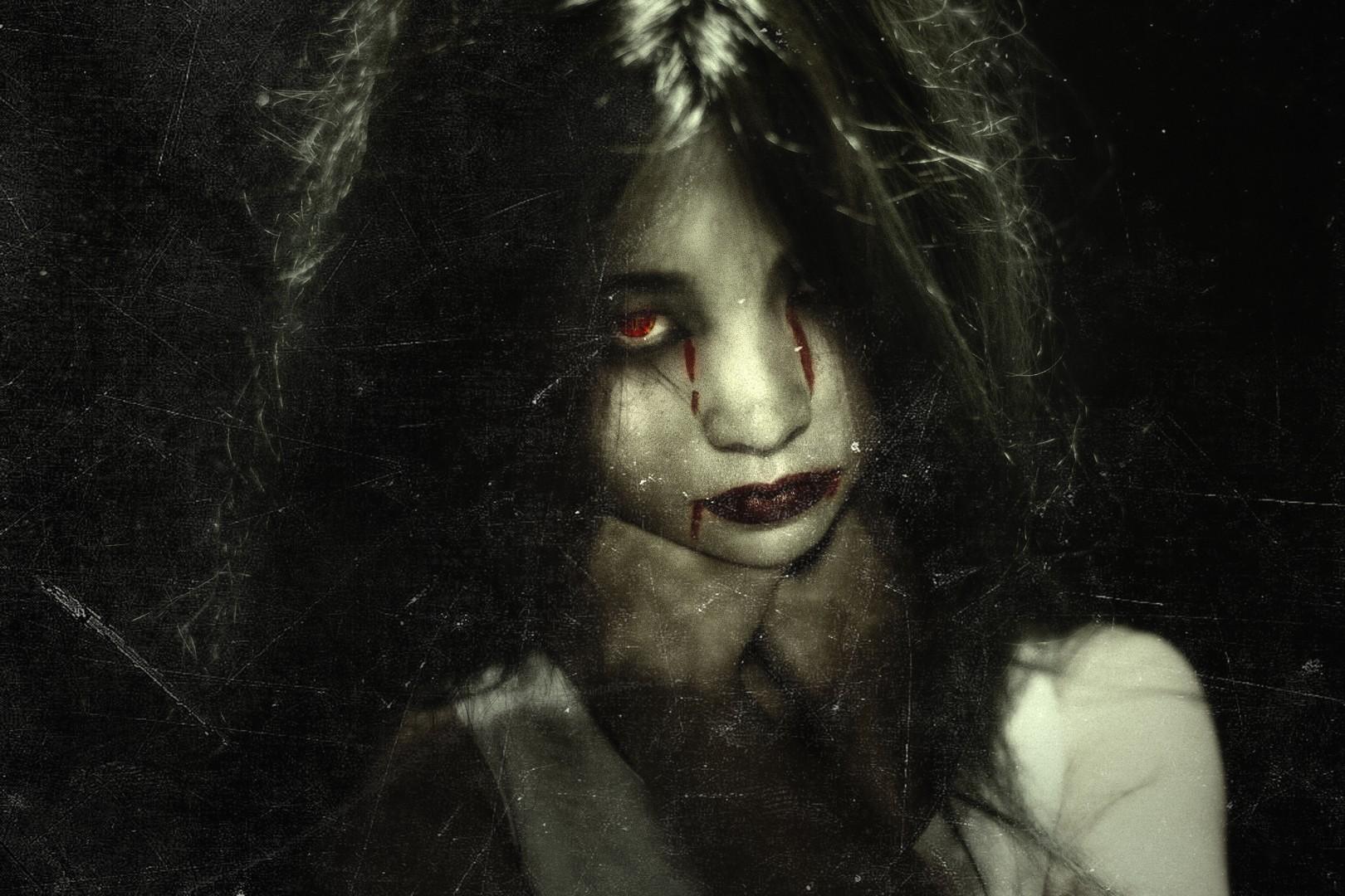 Картинки девушки ужасы