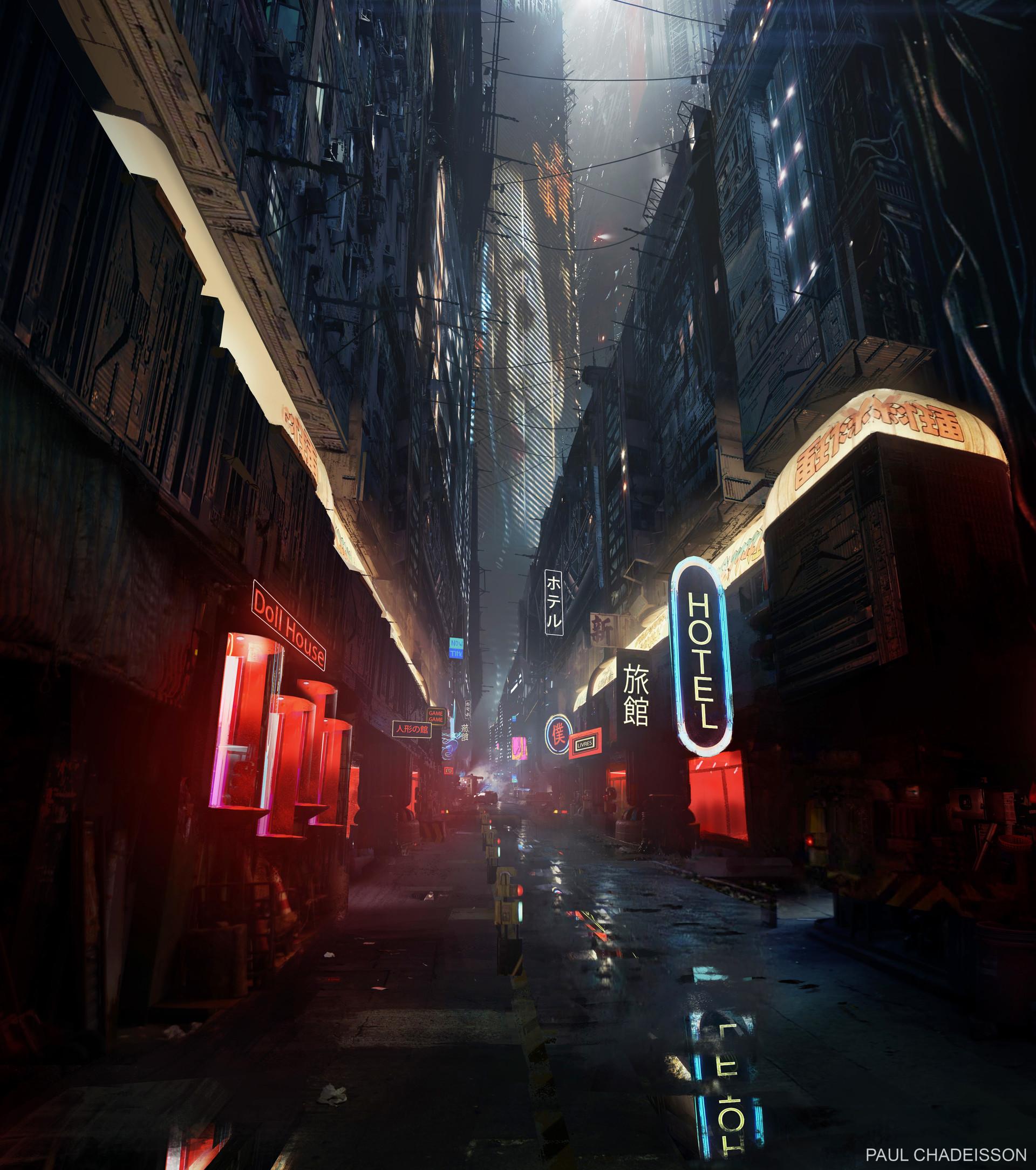 Wallpaper Blade Runner 2049 Cyberpunk Blade Runner Neon