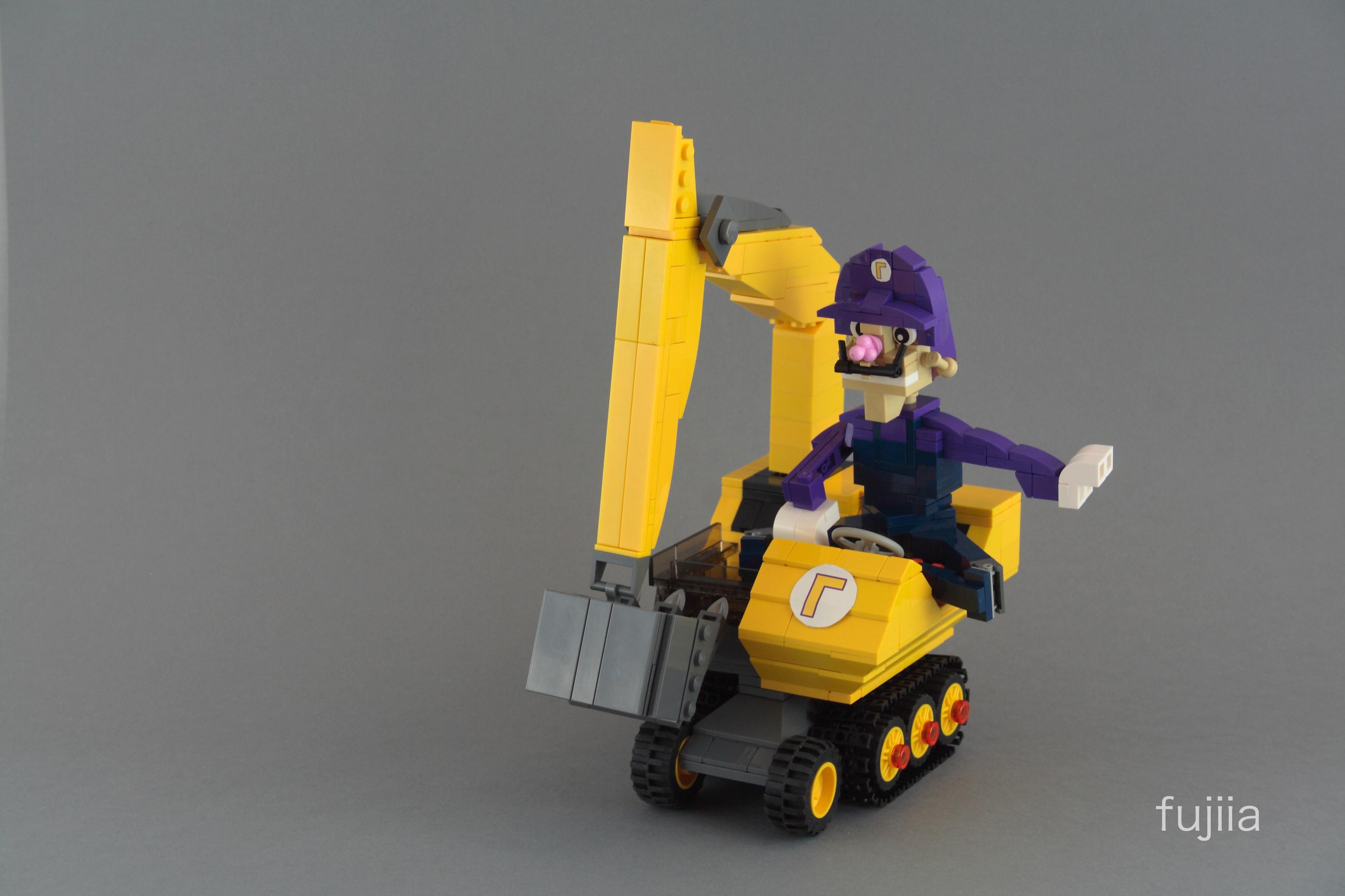 Wallpaper Blog Lego Nintendo Ds Characters Mariokart Moc