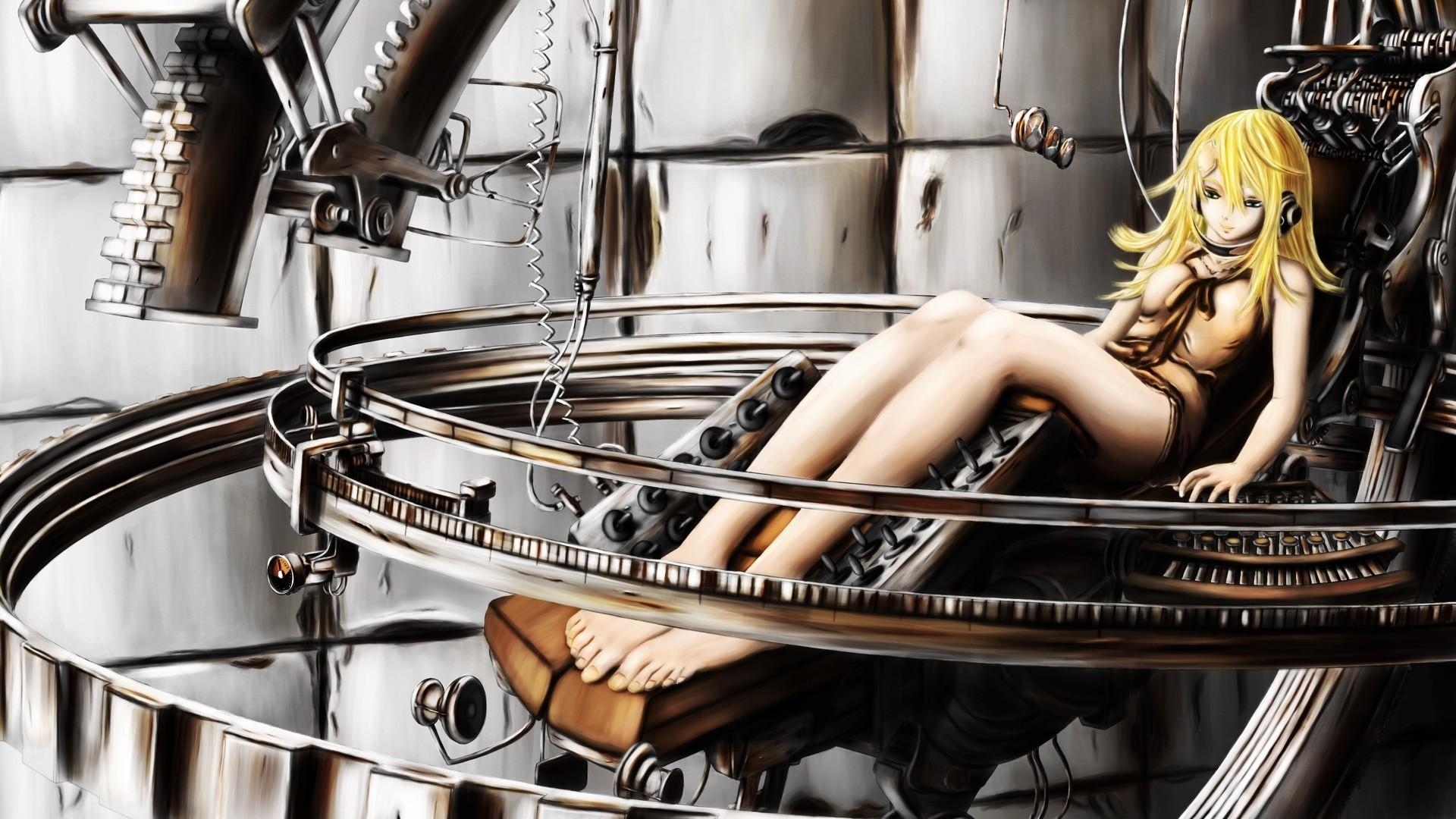 wallpaper blonde anime girls drums air gear sumeragi kururu skin head percussion. Black Bedroom Furniture Sets. Home Design Ideas