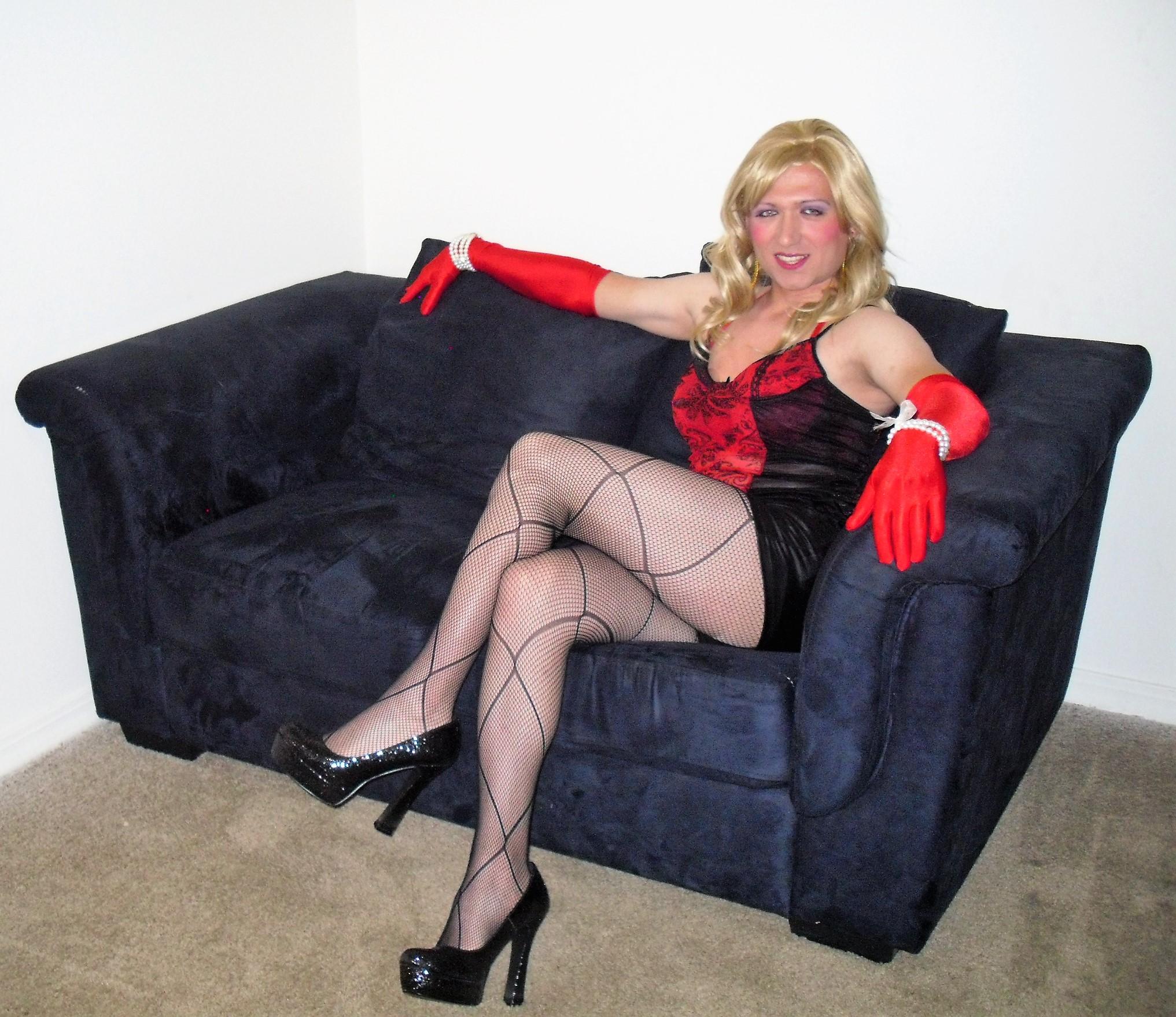 Travestis free pantyhose