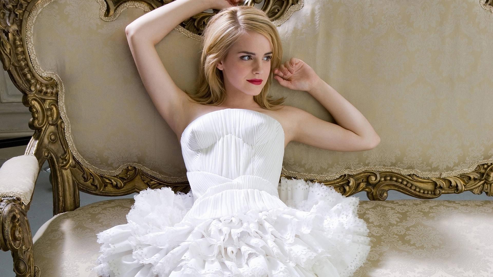 Hintergrundbilder : Frau, blond, weißes Kleid, Berühmtheit ...