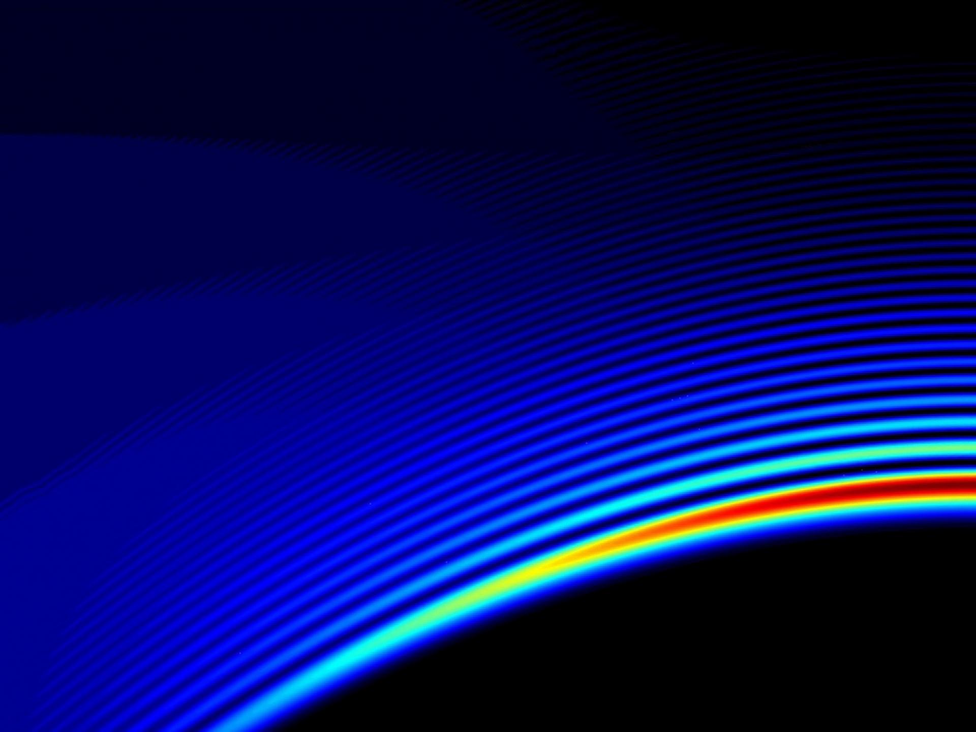 デスクトップ壁紙 青 サークル ストライプ 明るい 色 バック