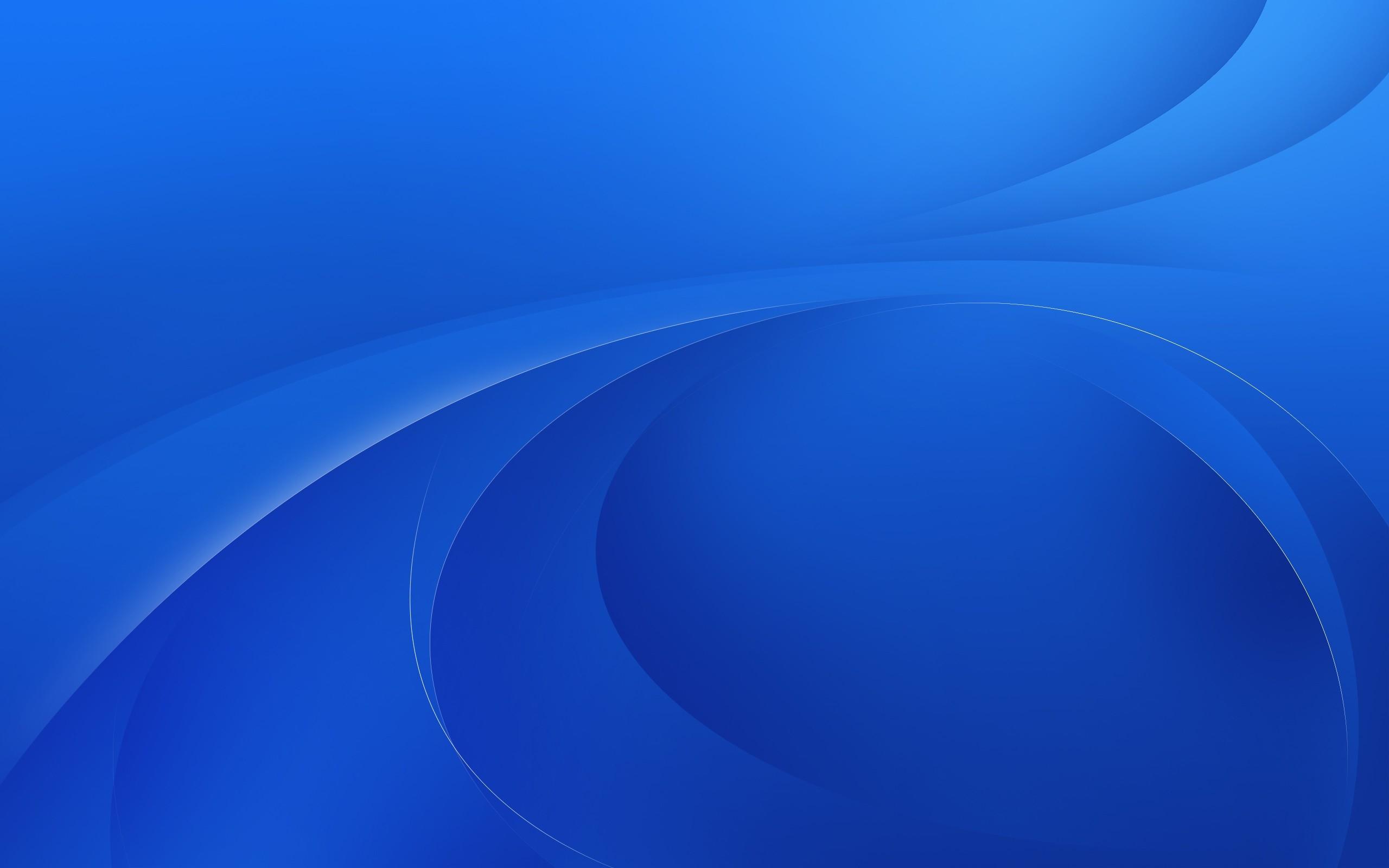Fondos de pantalla azul l nea oval fondo 2560x1600 for Sfondi blu hd