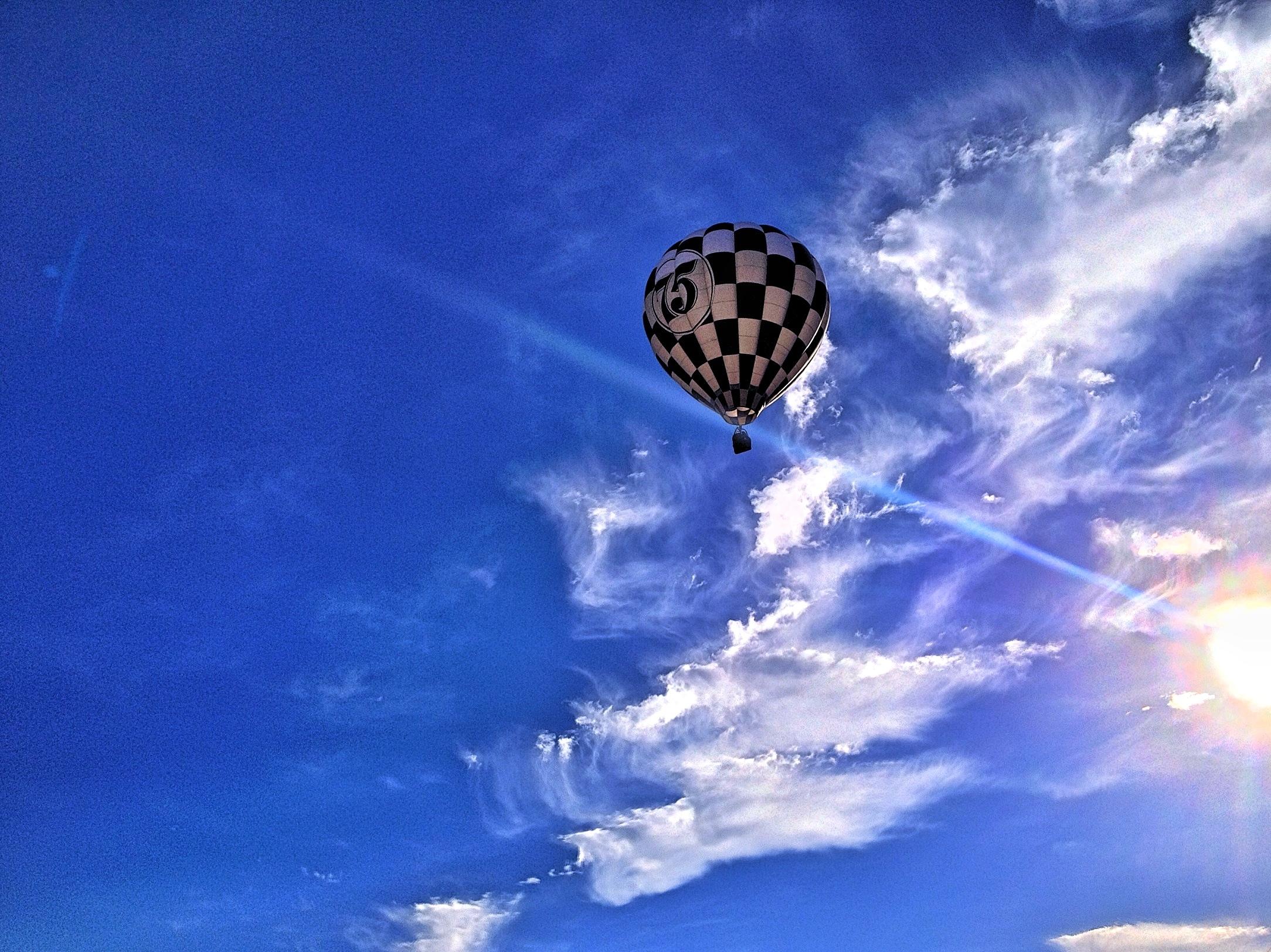 Wallpaper Blue Sky Sun White Black Sunshine Clouds Sunrise Ray Cloudy Nevada Balloon Nv Flare Hotairballoon Reno Ios Cloudporn Iphone 2014 Airballoon Renoballoonraces Greatrenoballoonrace Skyporn Ranchosanrafaelpark Iphone4s