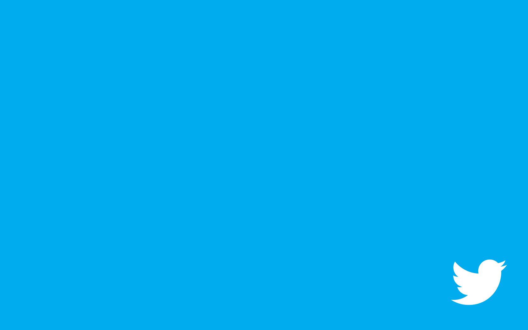 Wallpaper Blue Social Networks Twitter Shape Line