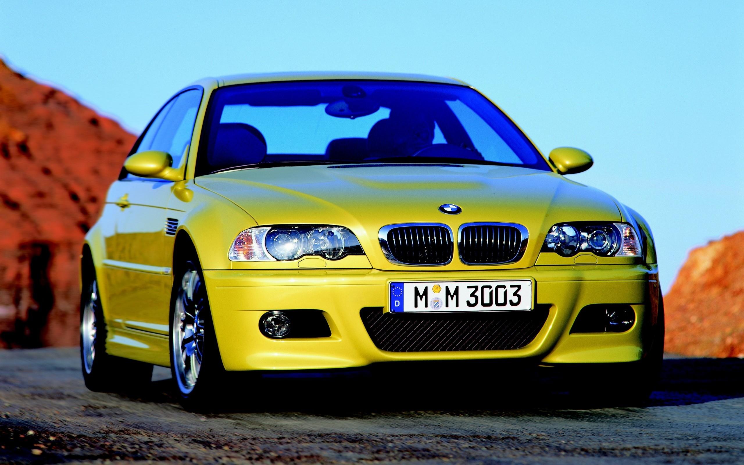 Fondos De Pantalla Bmw E46 M3 Carros Amarillo Estilo