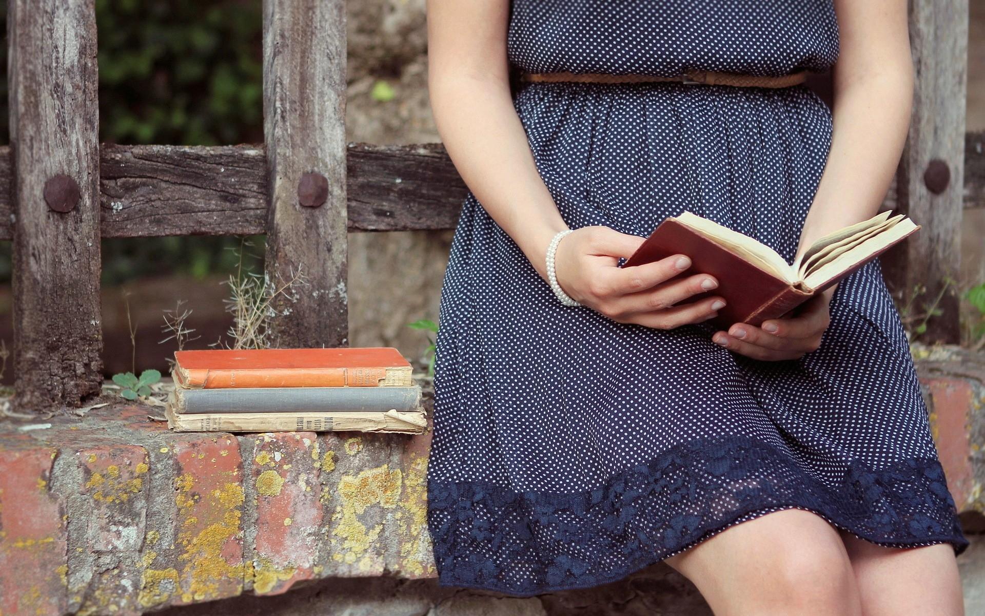 Wallpaper Book Girl Reading 1920x1200 Wallup 1023151